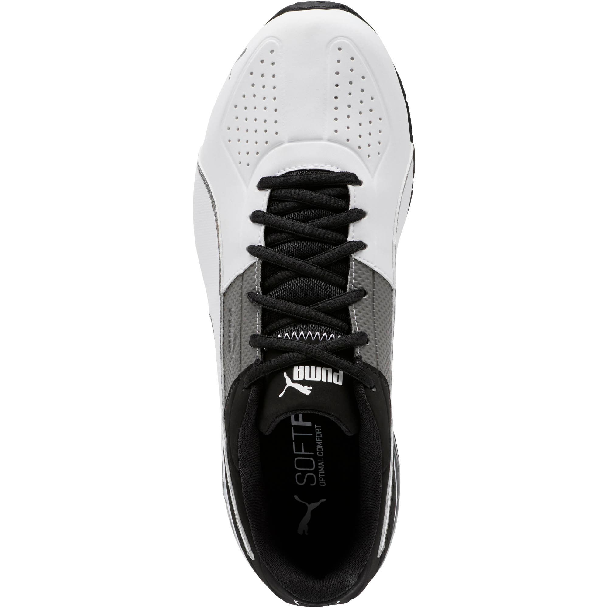 Thumbnail 5 of CELL Surin 2 Matte Men's Training Shoes, Charcoal Gray-Puma White, medium