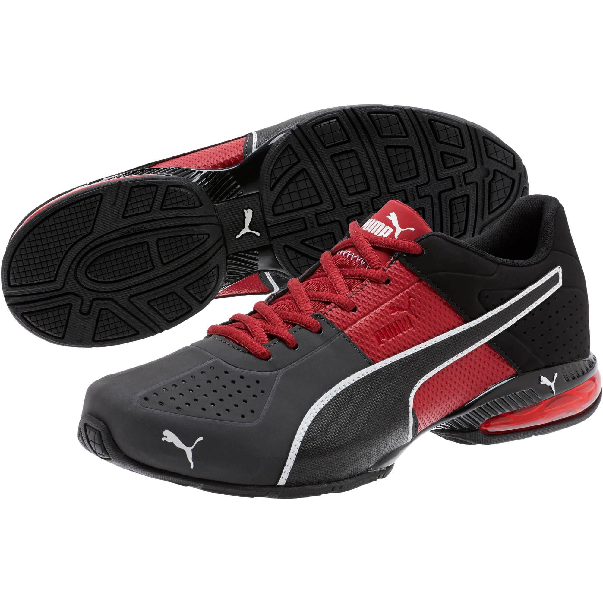 Thumbnail 2 of CELL Surin 2 Matte Men's Training Shoes, Rhubarb-Puma White, medium