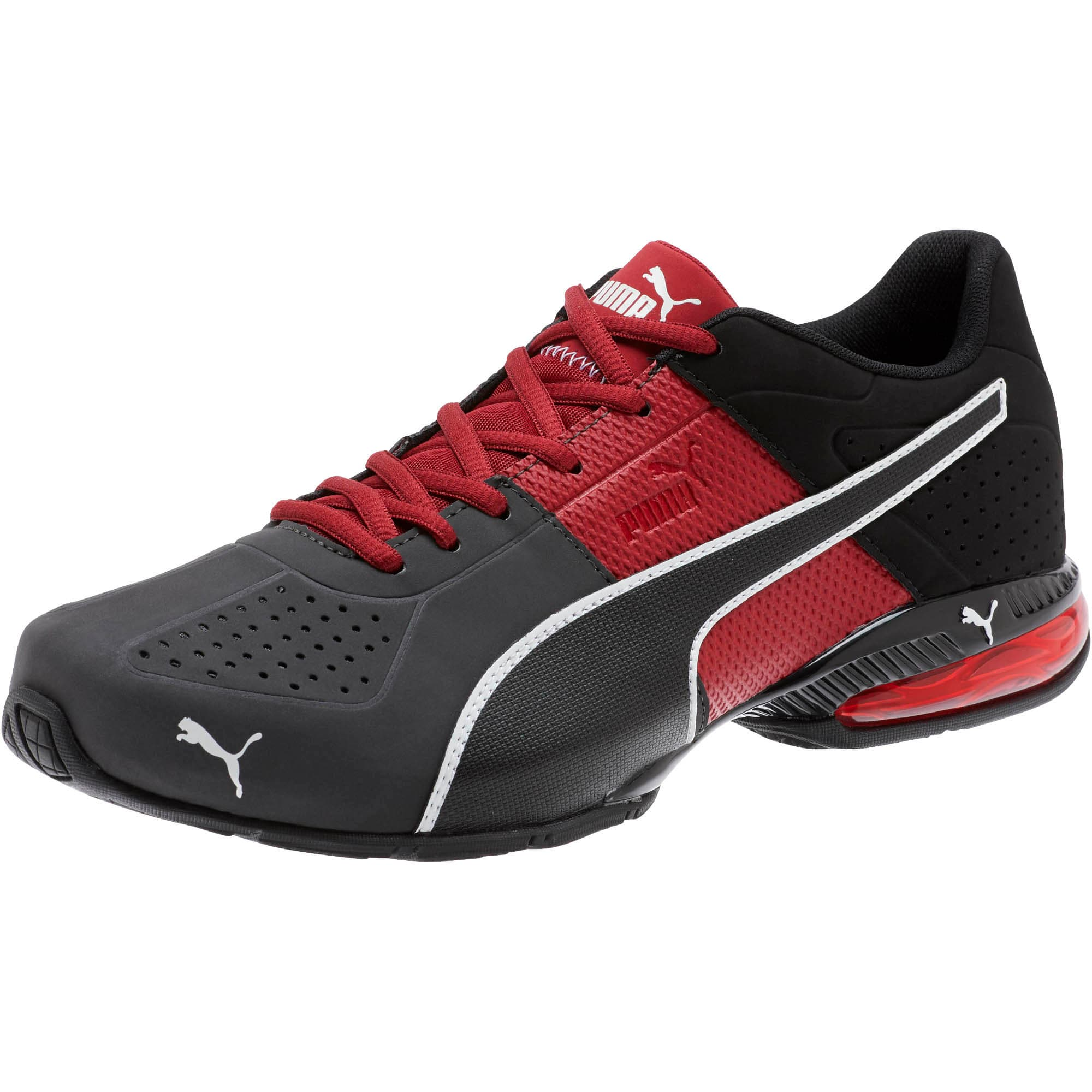 Thumbnail 1 of CELL Surin 2 Matte Men's Training Shoes, Rhubarb-Puma White, medium