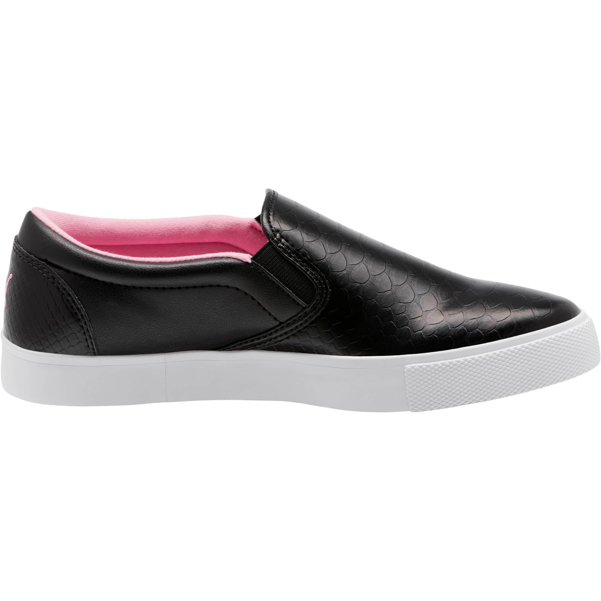 Thumbnail 4 of Tustin Women's Slip-On Golf Shoes, Black-PRISM PINK, medium