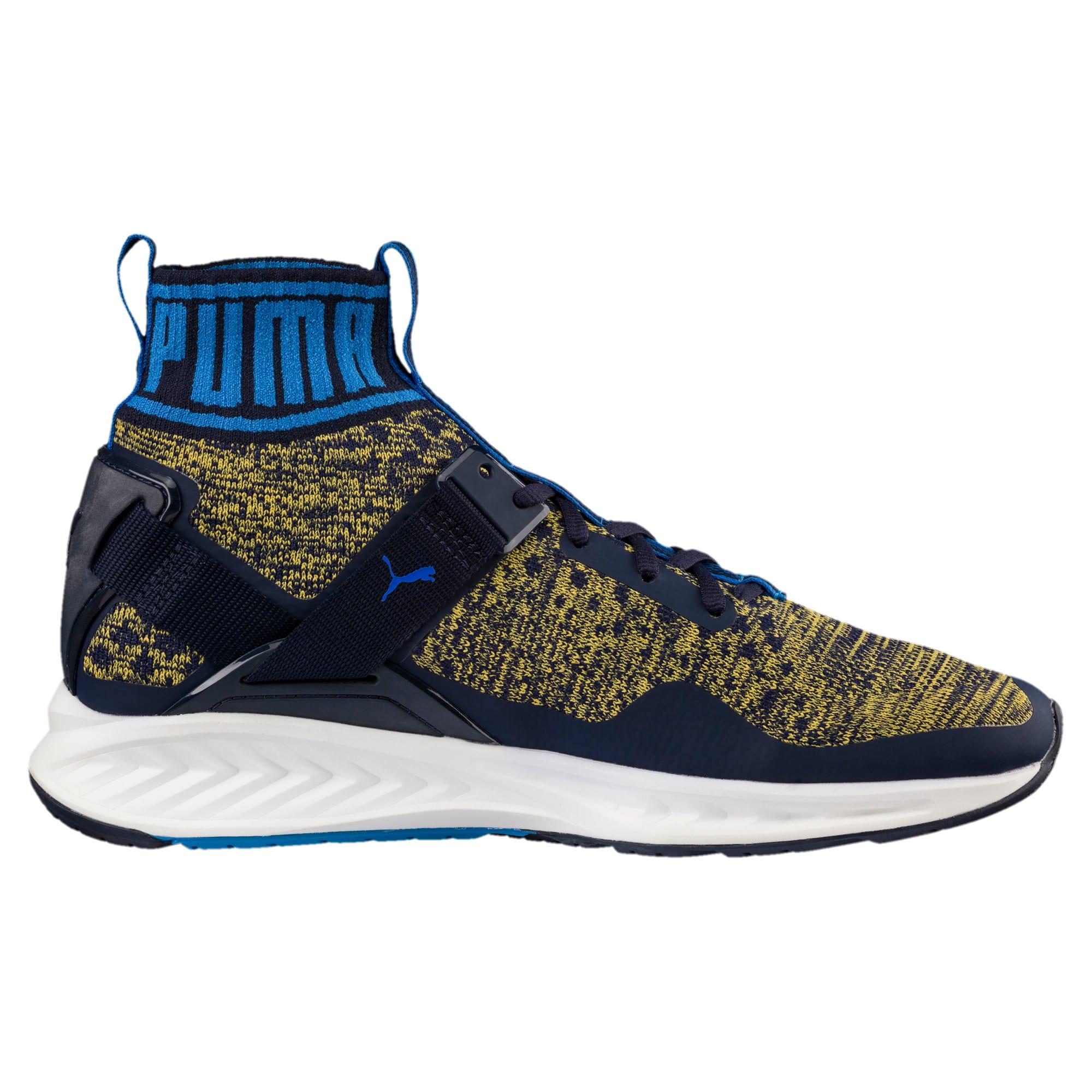 Thumbnail 3 of IGNITE evoKNIT Men's Training Shoes, Peacoat-Blue-YELLOW, medium