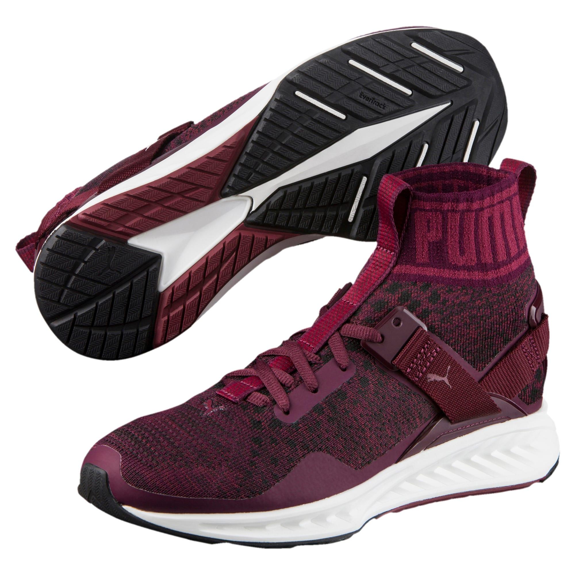 Thumbnail 2 of IGNITE evoKNIT Women's Training Shoes, Winetasting-CABARET-Black, medium