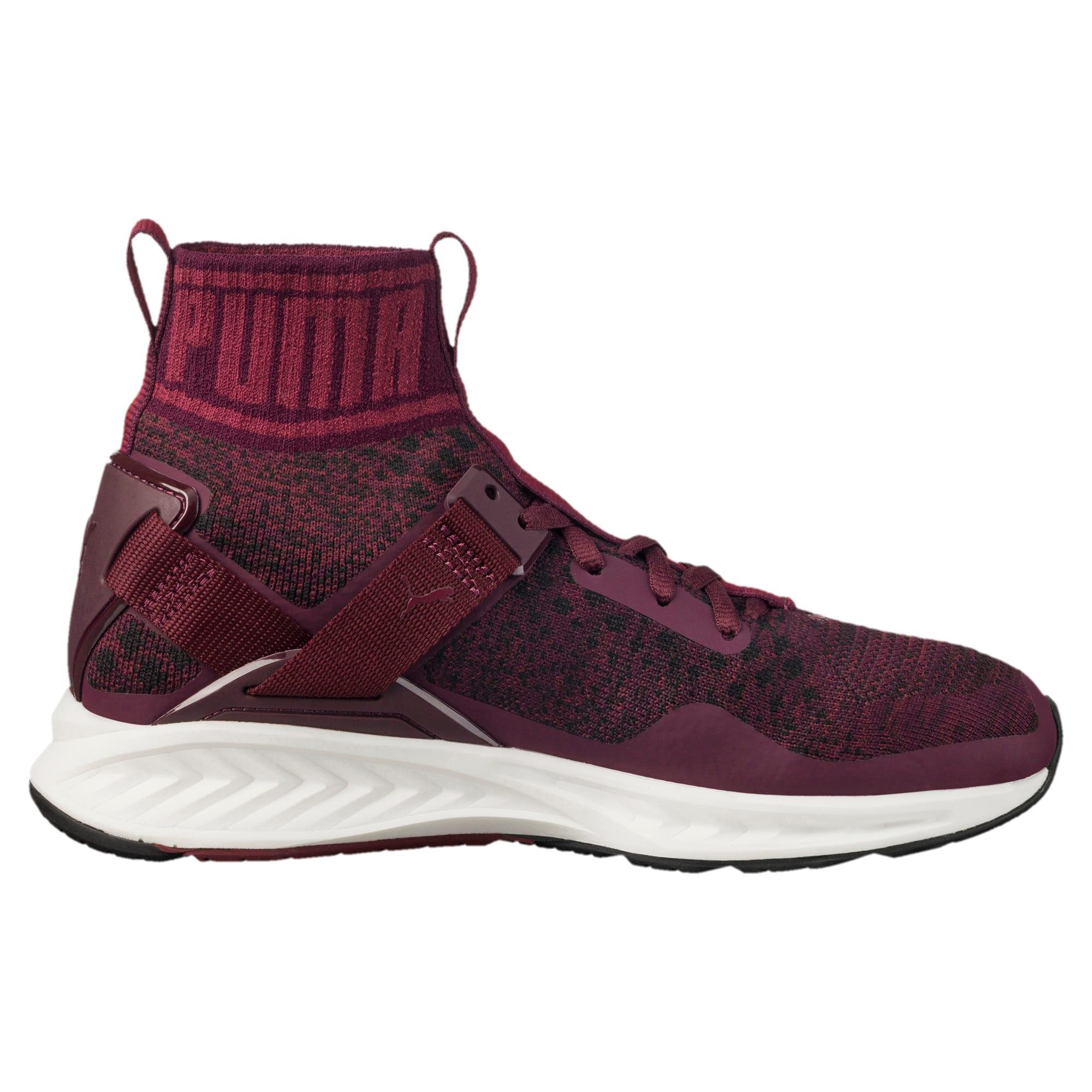 Thumbnail 3 of IGNITE evoKNIT Women's Training Shoes, Winetasting-CABARET-Black, medium