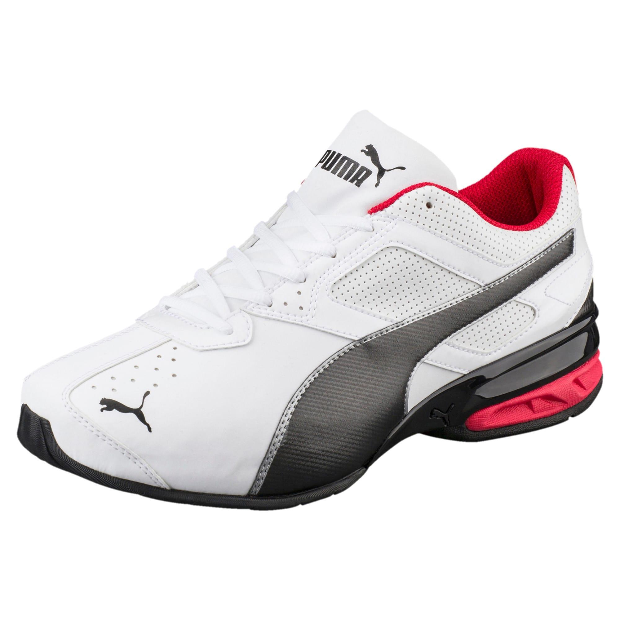 Thumbnail 1 of Tazon 6 FM Wide Men's Sneakers, White-Black-puma silver, medium