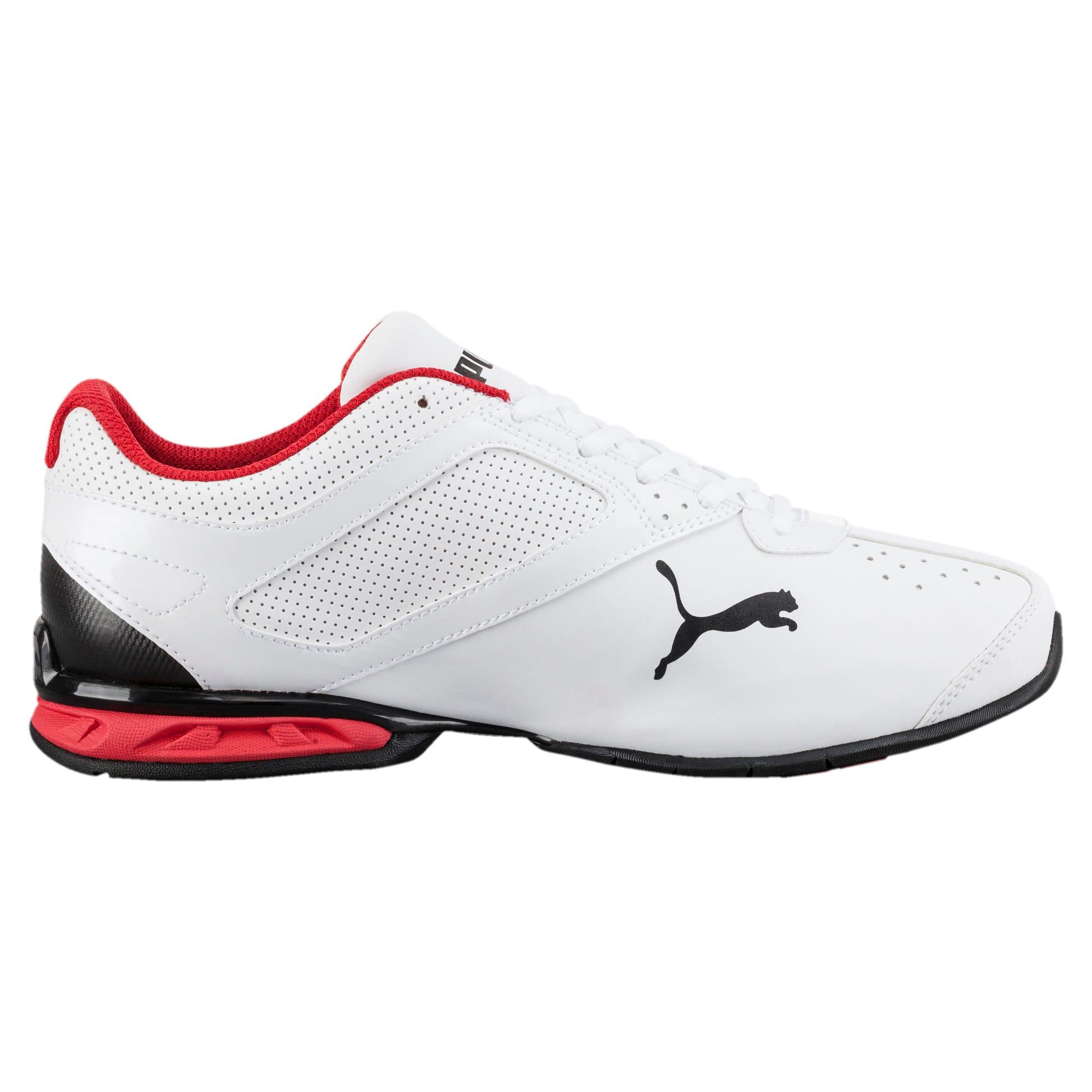 Thumbnail 3 of Tazon 6 FM Wide Men's Sneakers, White-Black-puma silver, medium