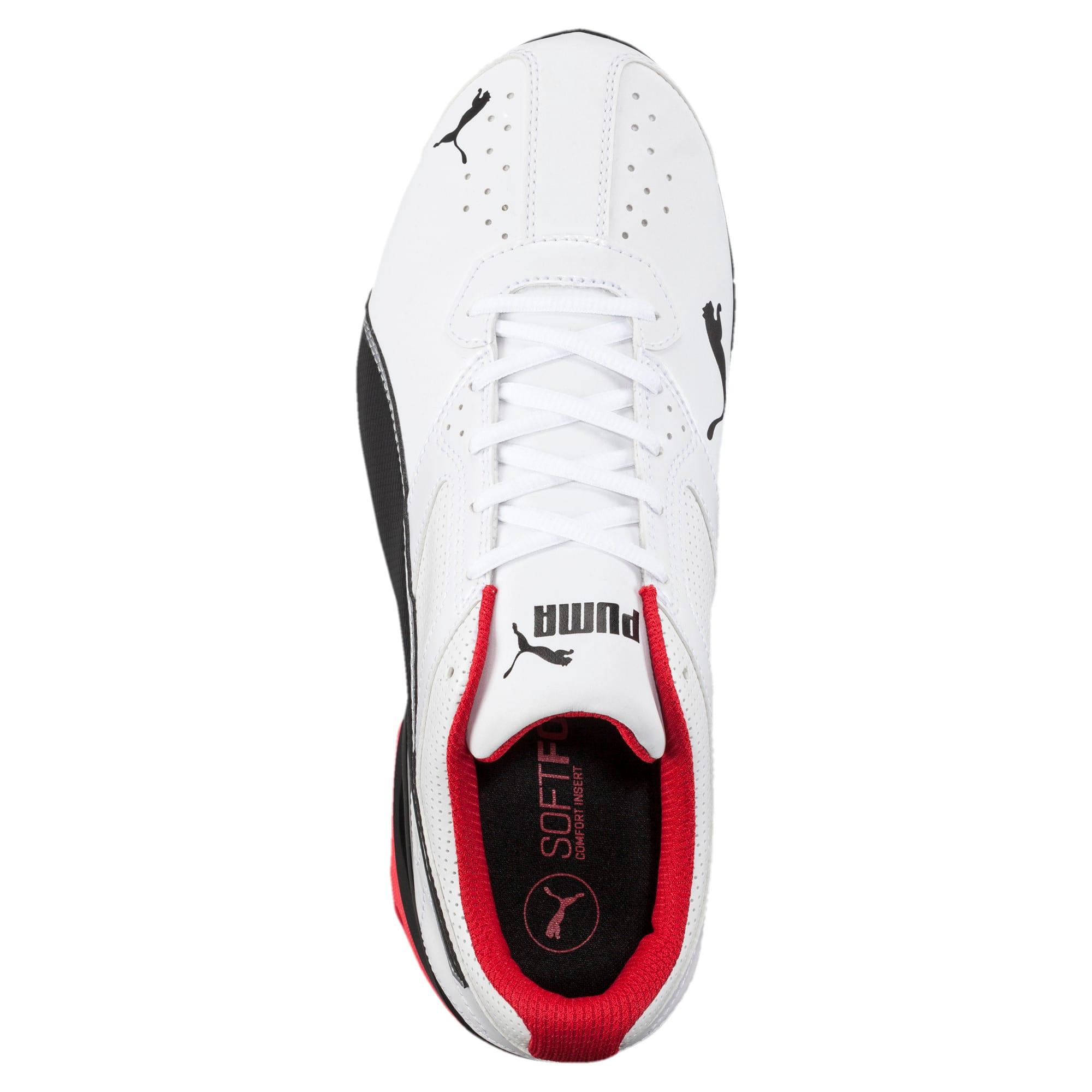 Thumbnail 5 of Tazon 6 FM Wide Men's Sneakers, White-Black-puma silver, medium