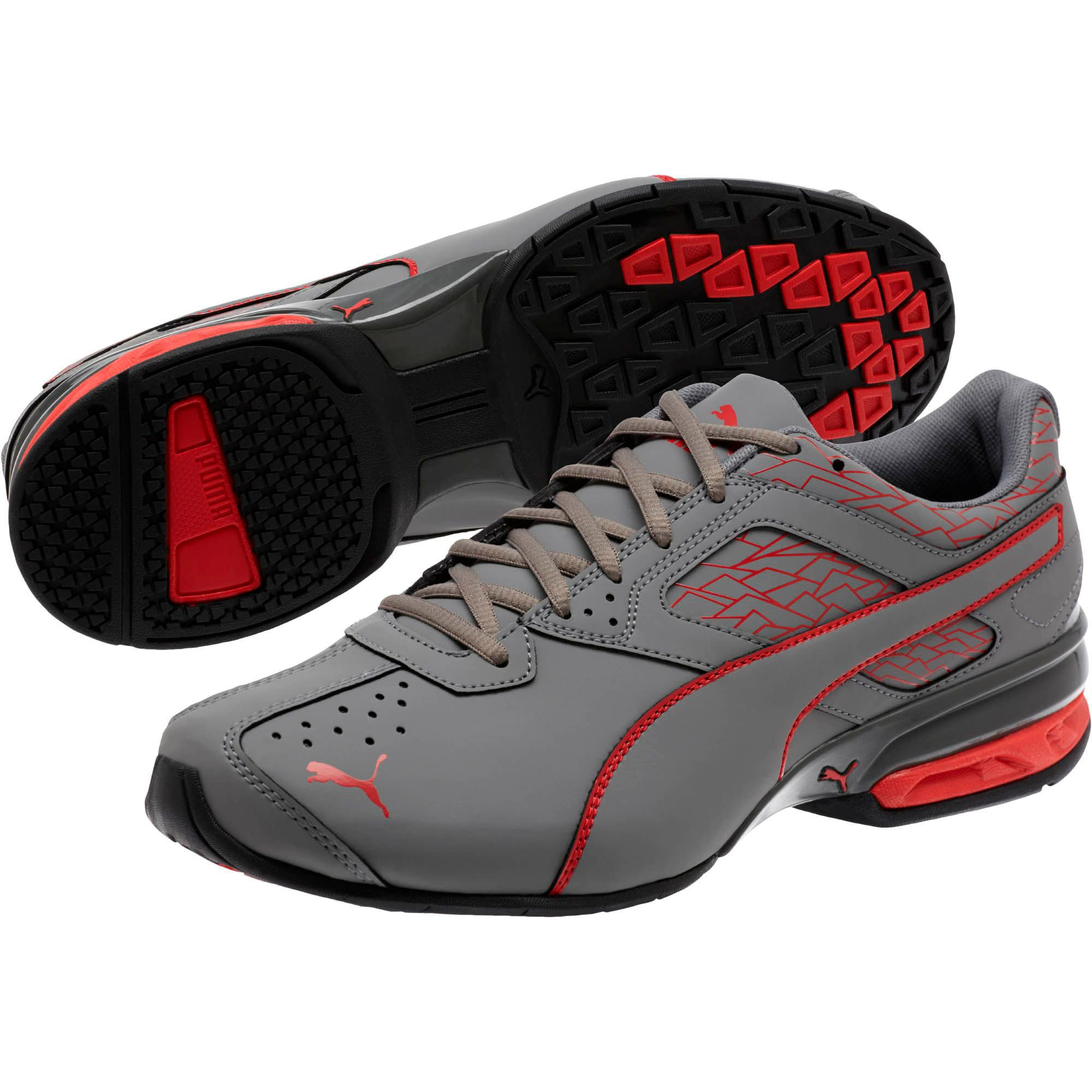 Thumbnail 2 of Tazon 6 Fracture FM Men's Sneakers, QUIET SHADE-High Risk Red, medium