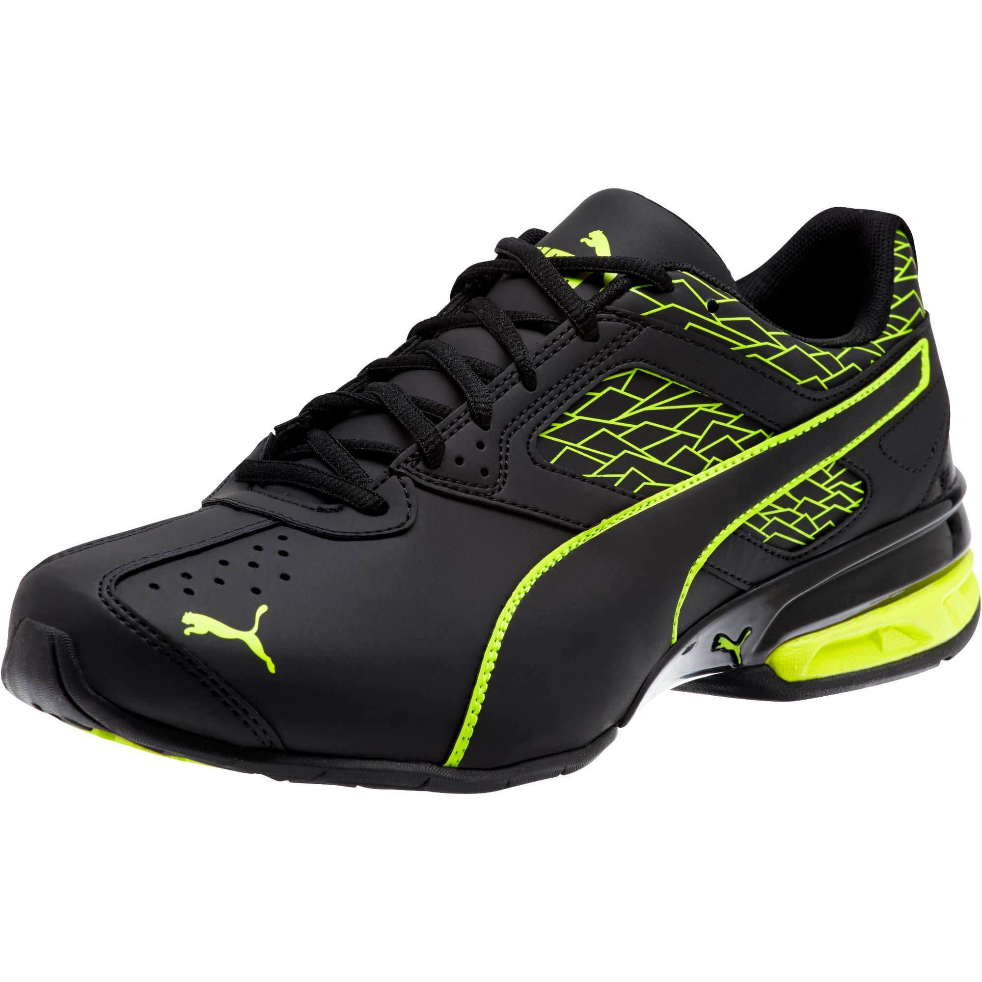 Thumbnail 1 of Tazon 6 Fracture FM Men's Sneakers, Puma Black-Safety Yellow, medium
