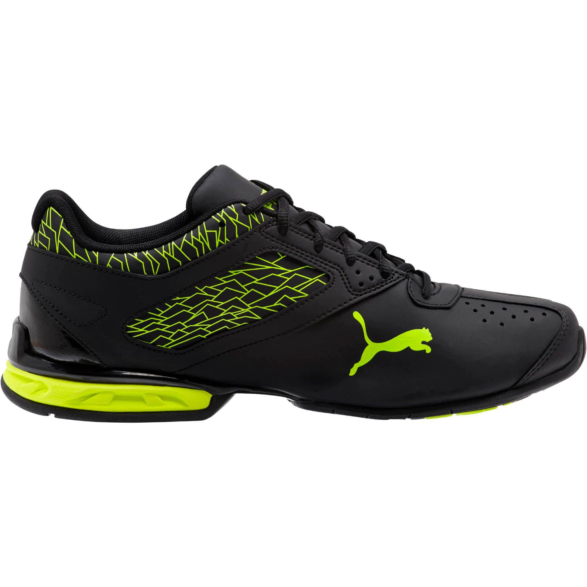 Thumbnail 3 of Tazon 6 Fracture FM Men's Sneakers, Puma Black-Safety Yellow, medium