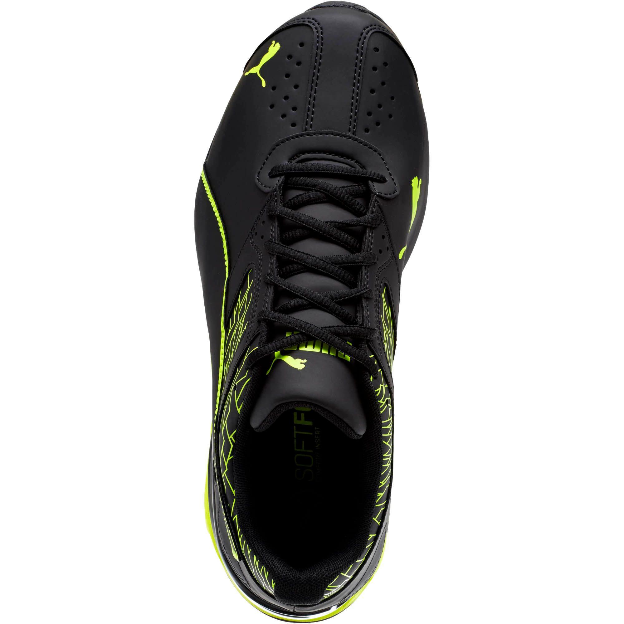 Thumbnail 5 of Tazon 6 Fracture FM Men's Sneakers, Puma Black-Safety Yellow, medium
