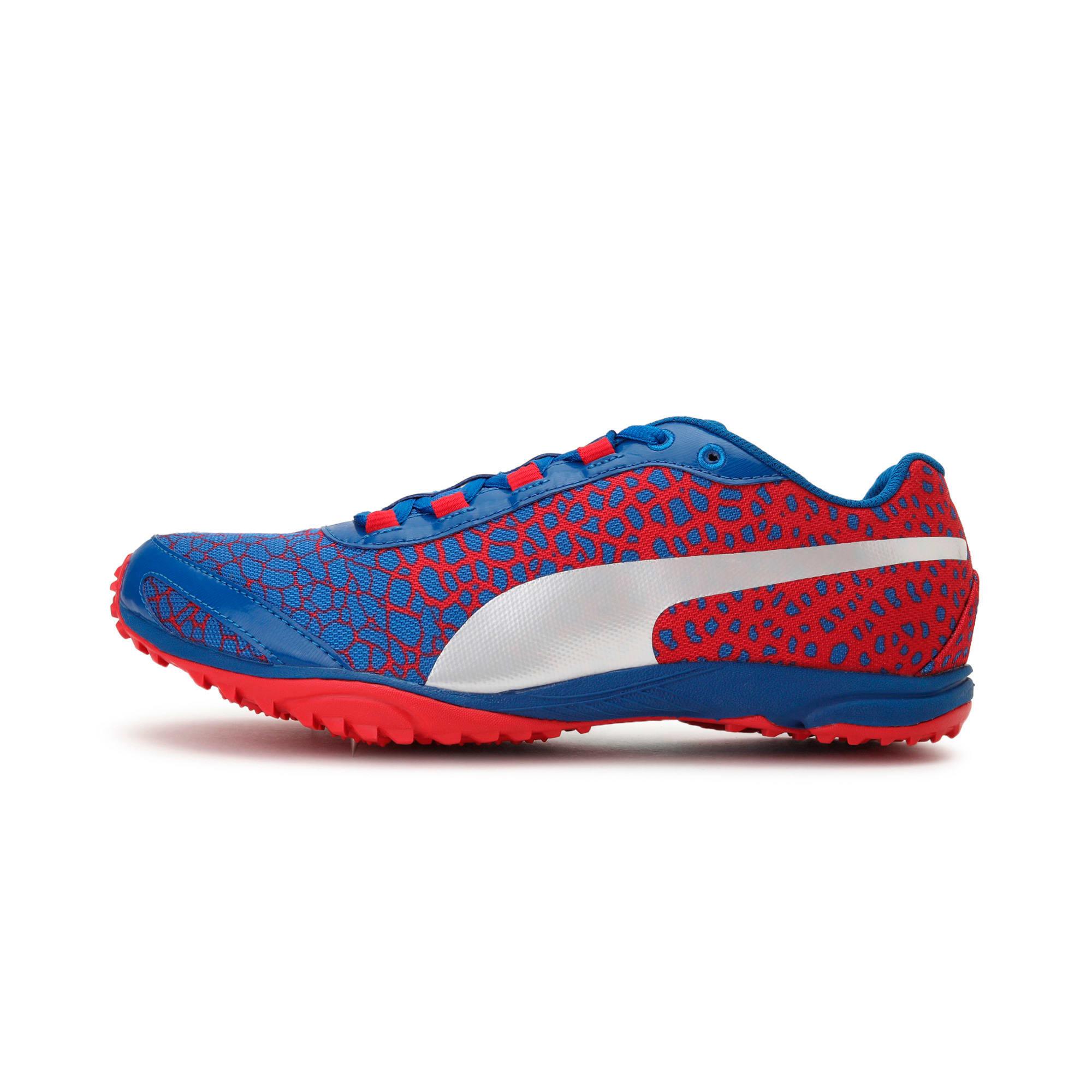 Thumbnail 1 of evoSPEED Haraka 4 Men's Cross Country Running Shoes, Lapis Blue-Toreador, medium-IND