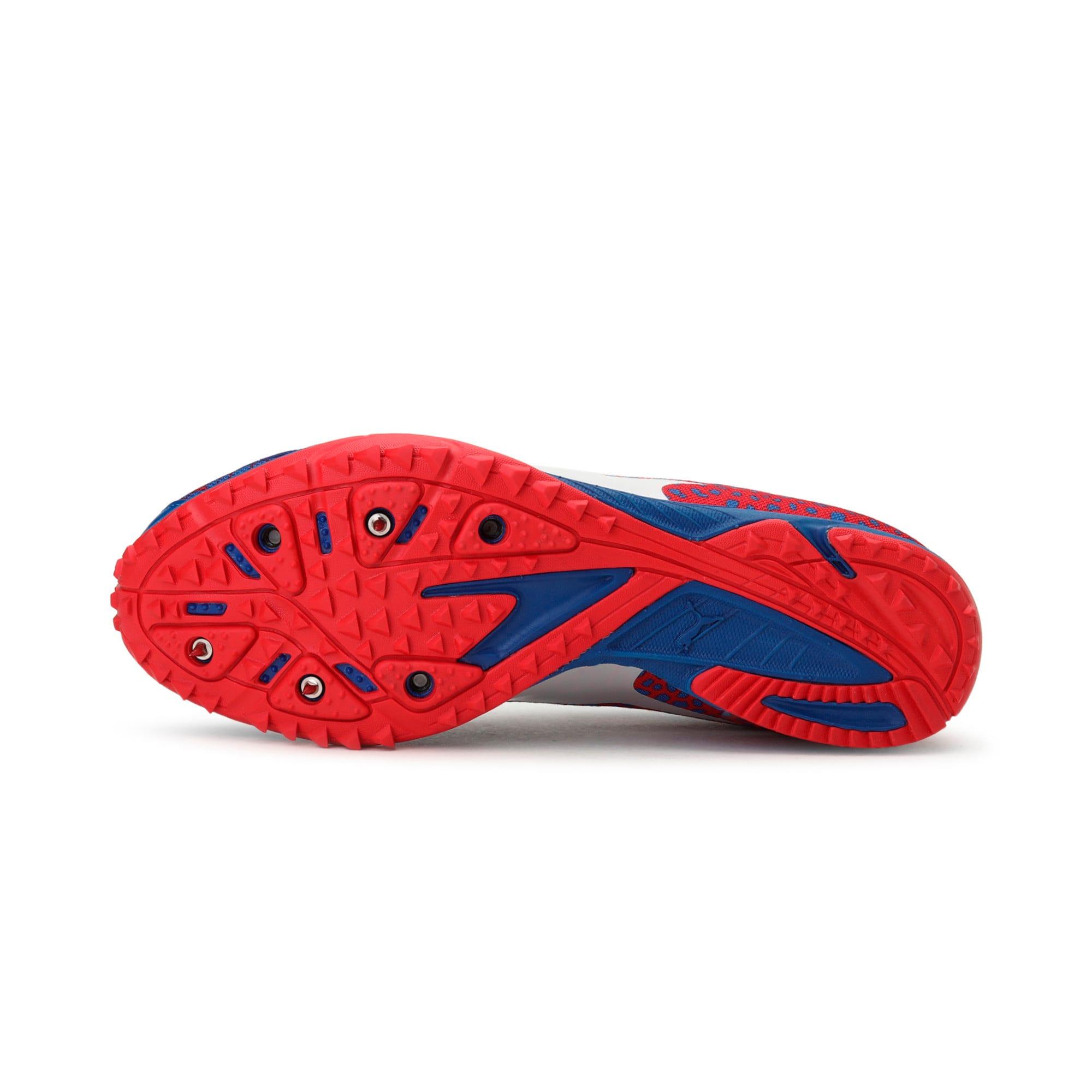 Thumbnail 3 of evoSPEED Haraka 4 Men's Cross Country Running Shoes, Lapis Blue-Toreador, medium-IND