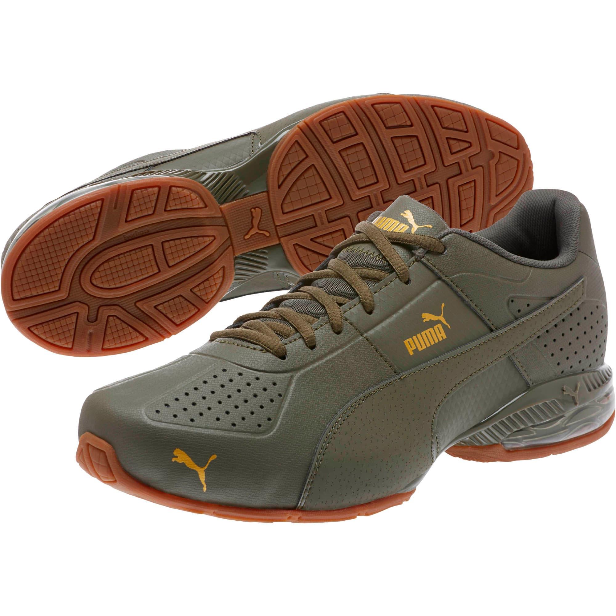 Thumbnail 2 of Cell Surin 2 Premium Men's Running Shoes, Olive Night-Gold, medium