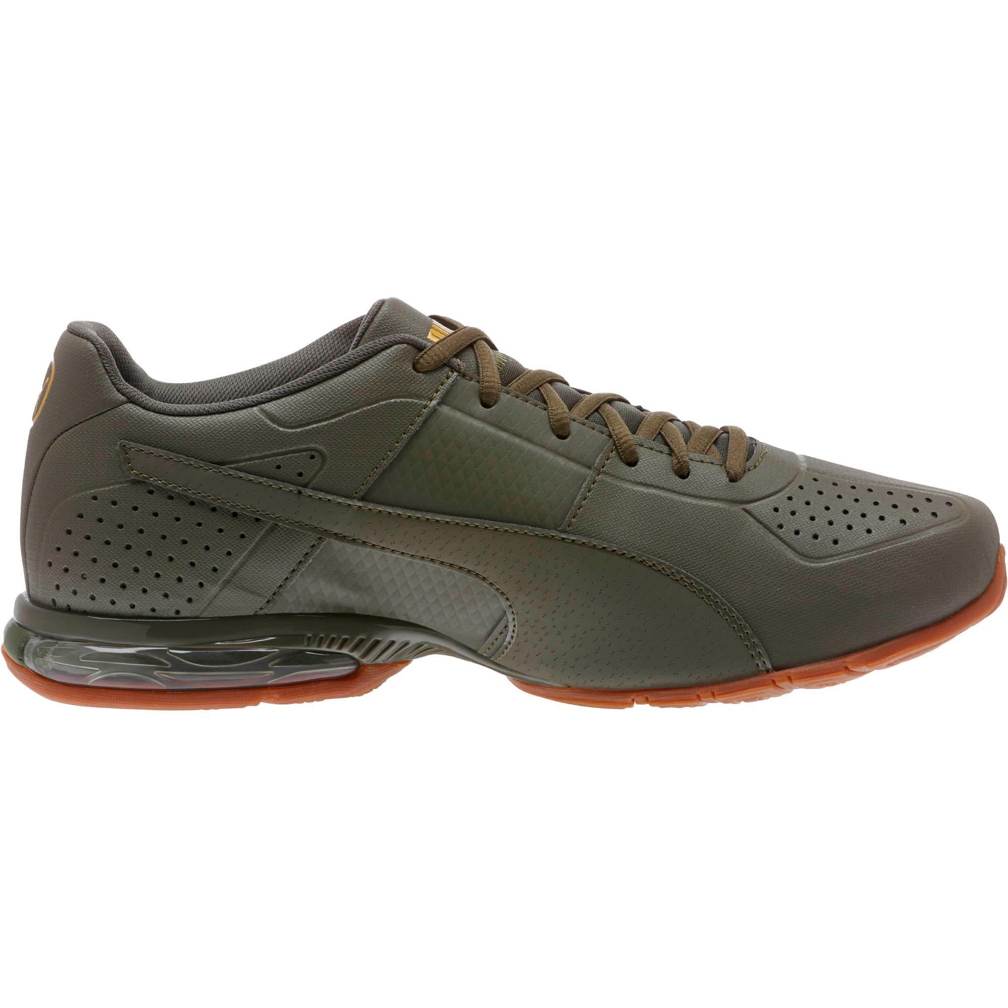 Thumbnail 3 of Cell Surin 2 Premium Men's Running Shoes, Olive Night-Gold, medium