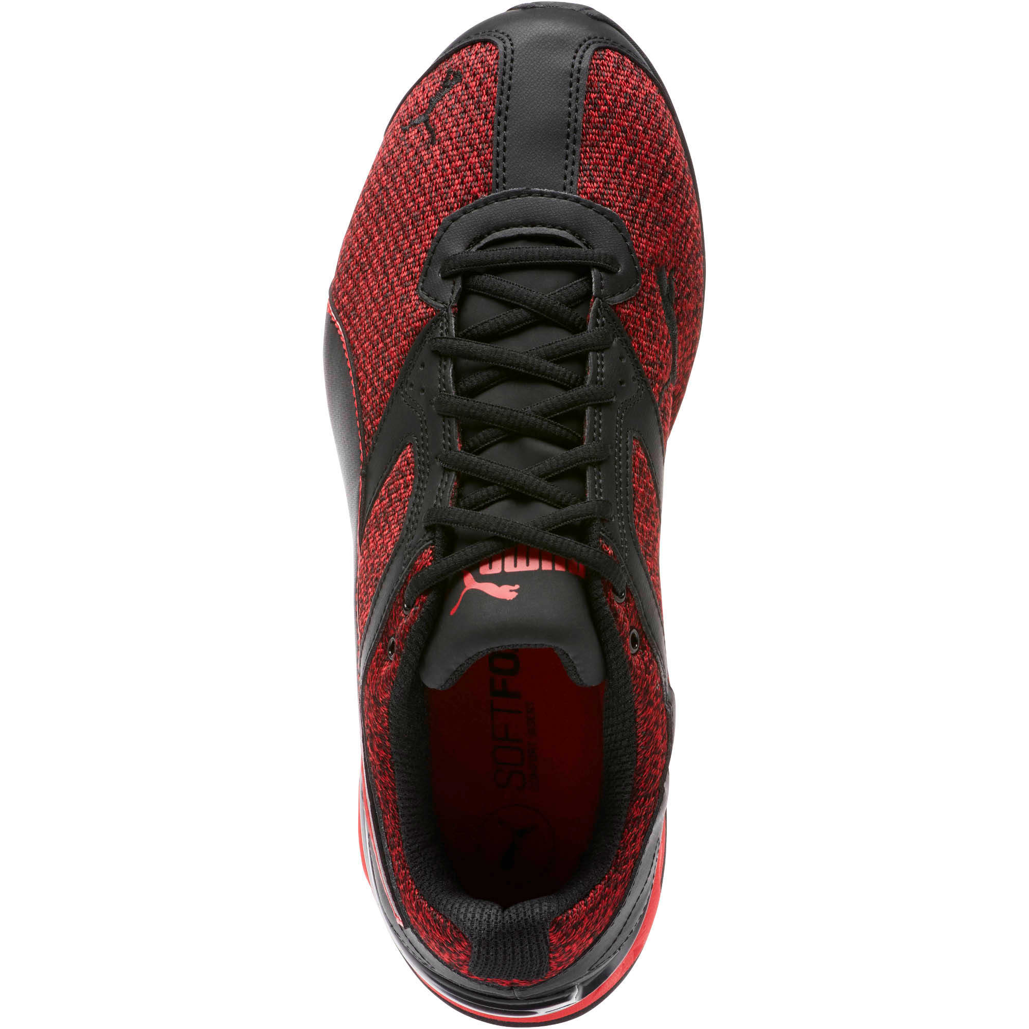 Thumbnail 5 of Tazon 6 Knit Men's Sneakers, Puma Black-Toreador, medium