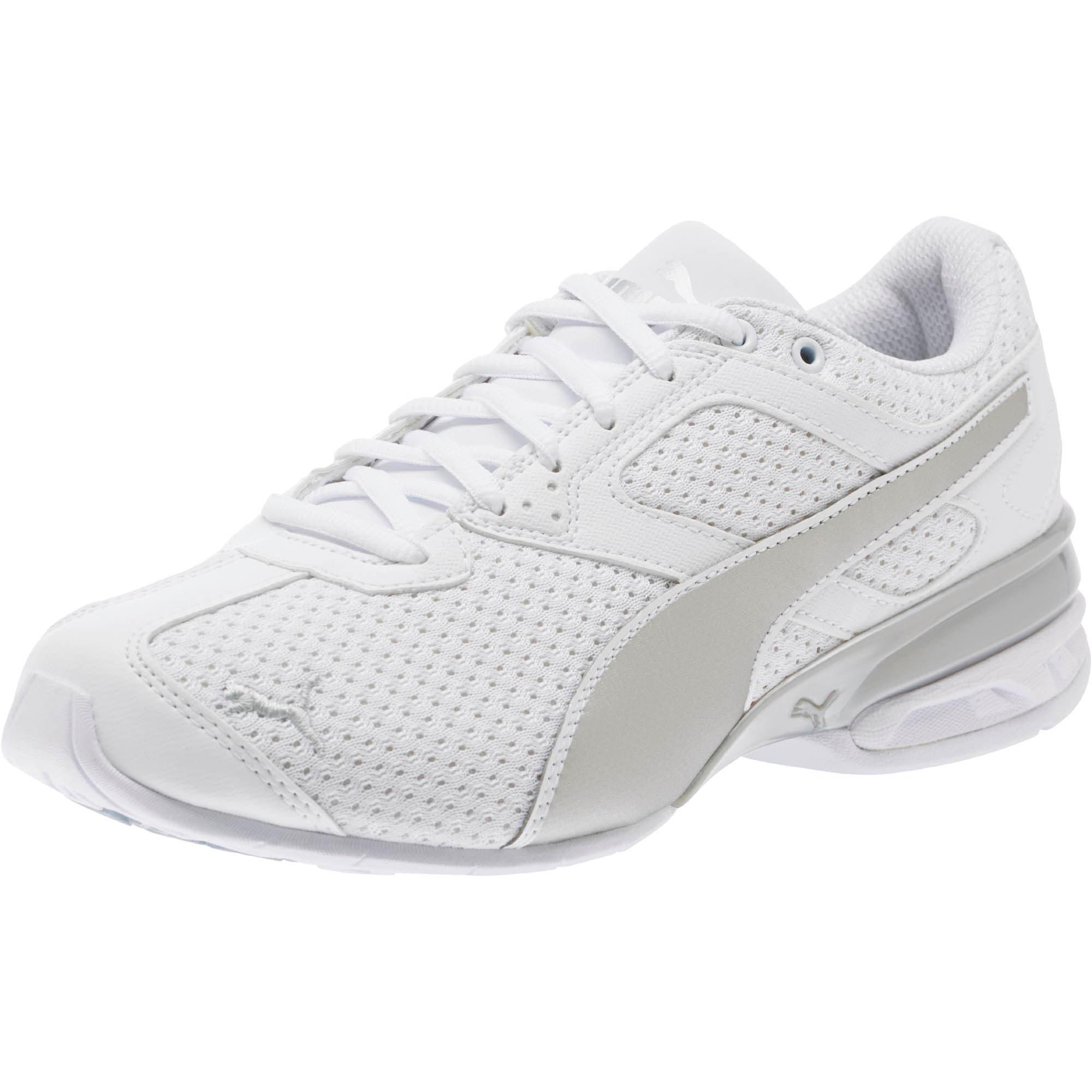 Thumbnail 1 of Tazon 6 Knit Women's Sneakers, Puma White-Puma Silver, medium
