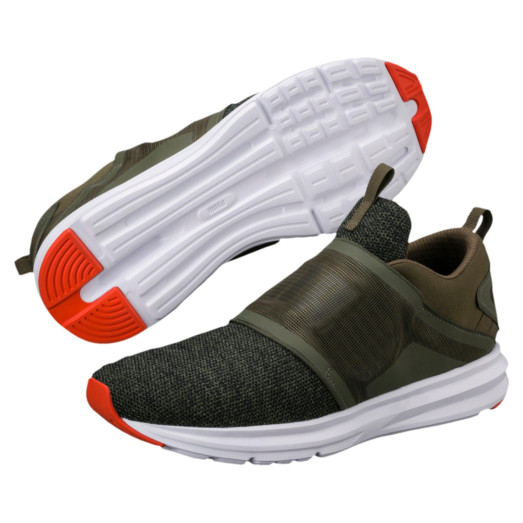 Details zu Puma Enzo Strap Schuhe Herren Sneaker Grau