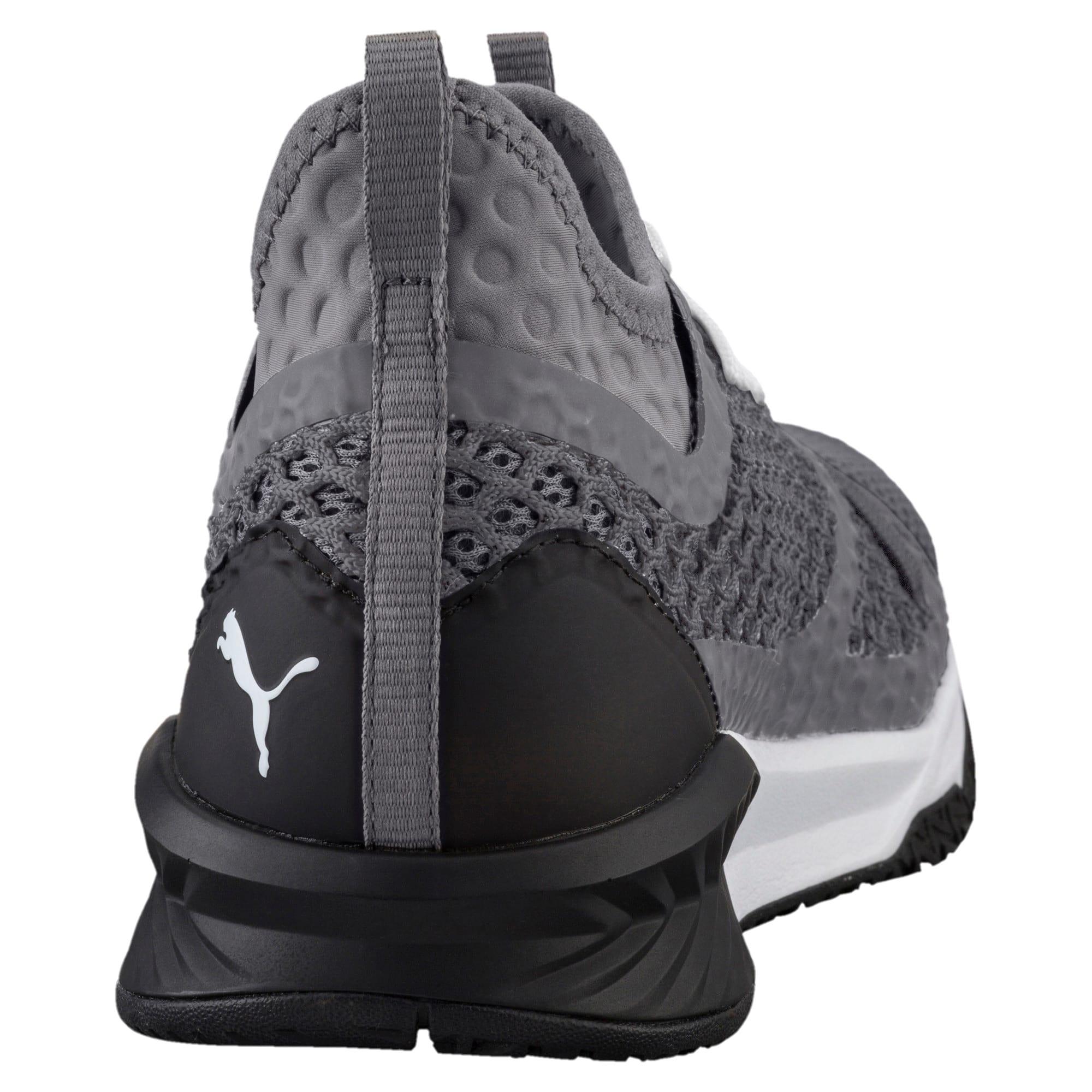 Thumbnail 4 of IGNITE XT NETFIT Men's Training Shoes, QUIET SHADE-Puma Black, medium-IND