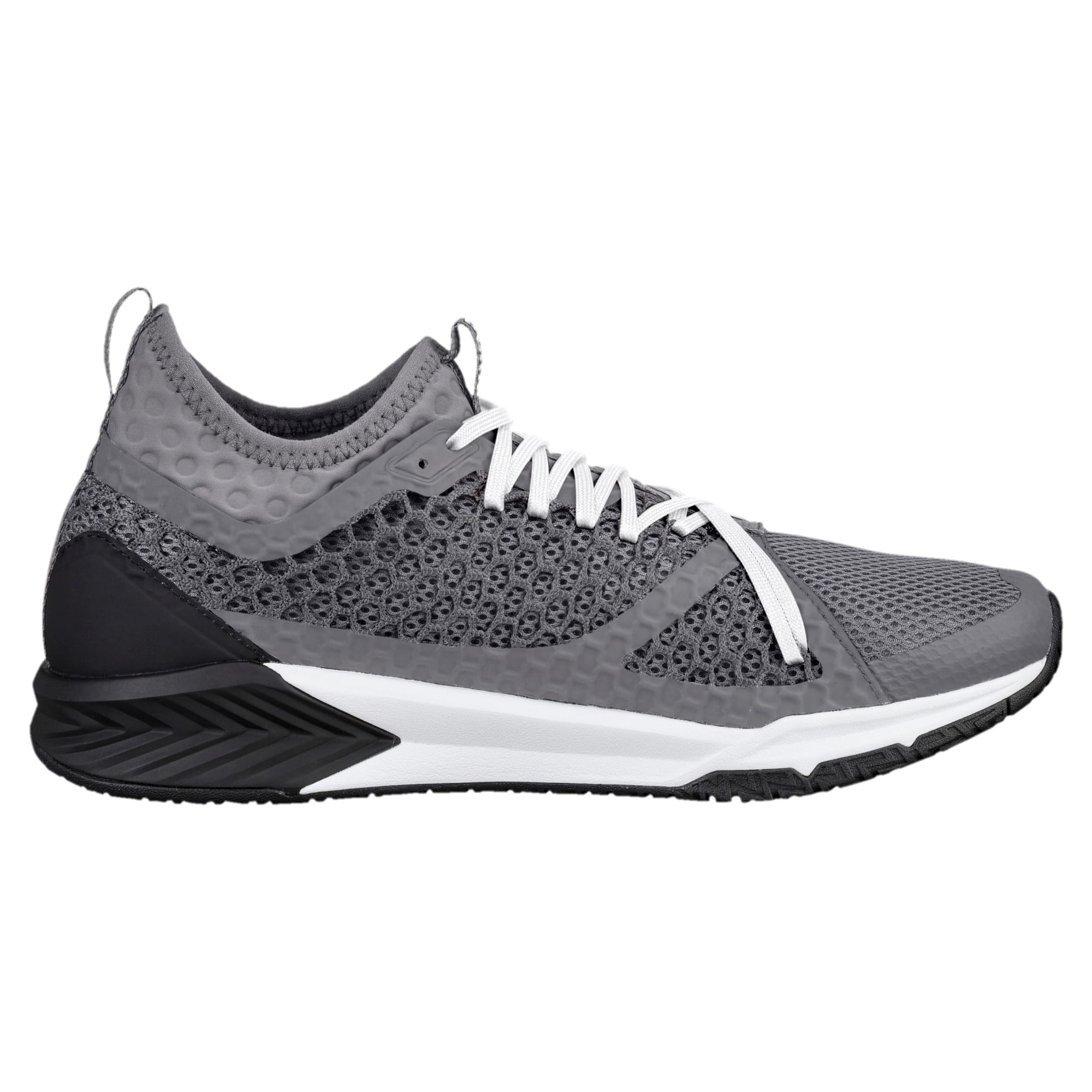 Thumbnail 3 of IGNITE XT NETFIT Men's Training Shoes, QUIET SHADE-Puma Black, medium-IND