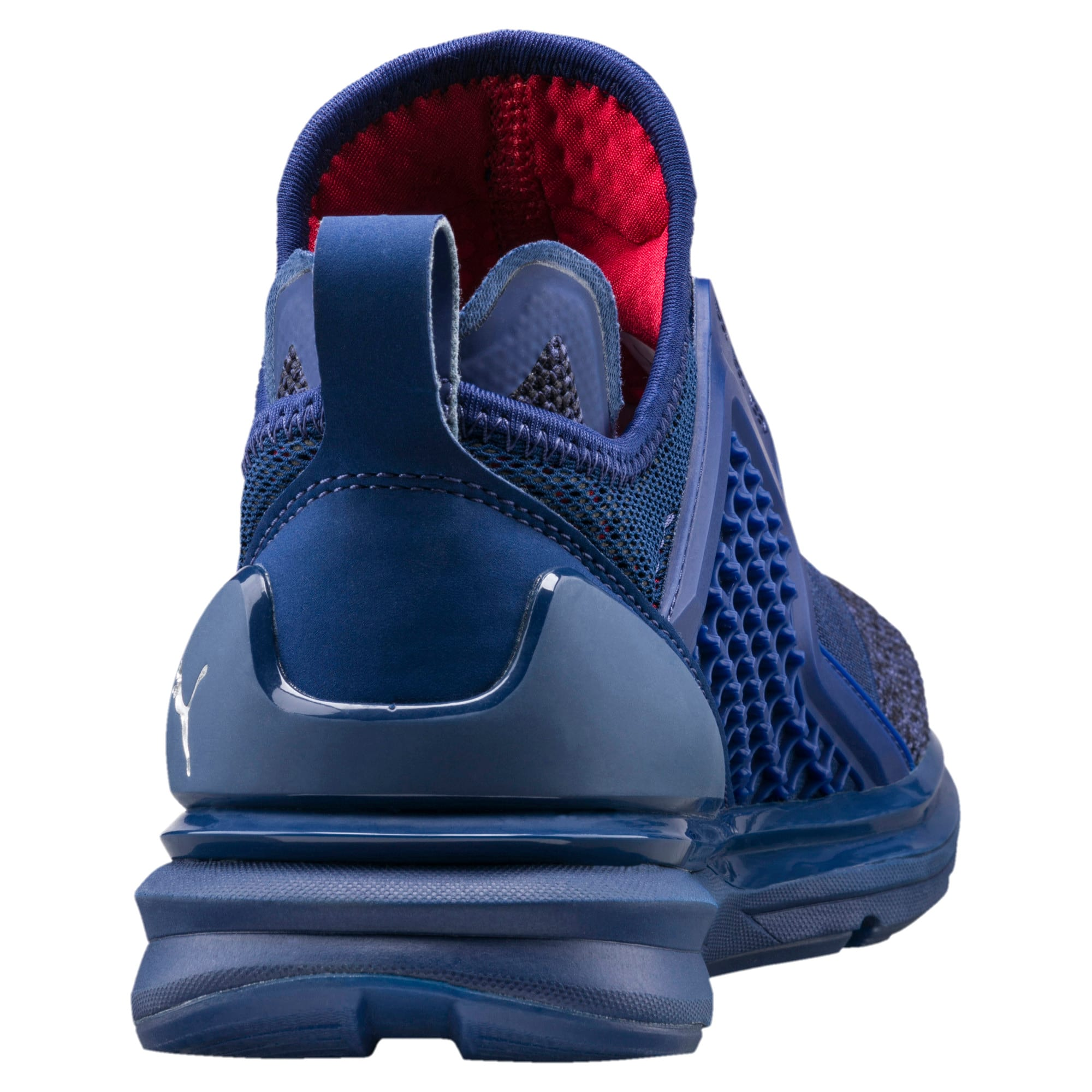 Thumbnail 3 of IGNITE Limitless Knit Kids' Trainers, Blue Depths-Toreador, medium-IND