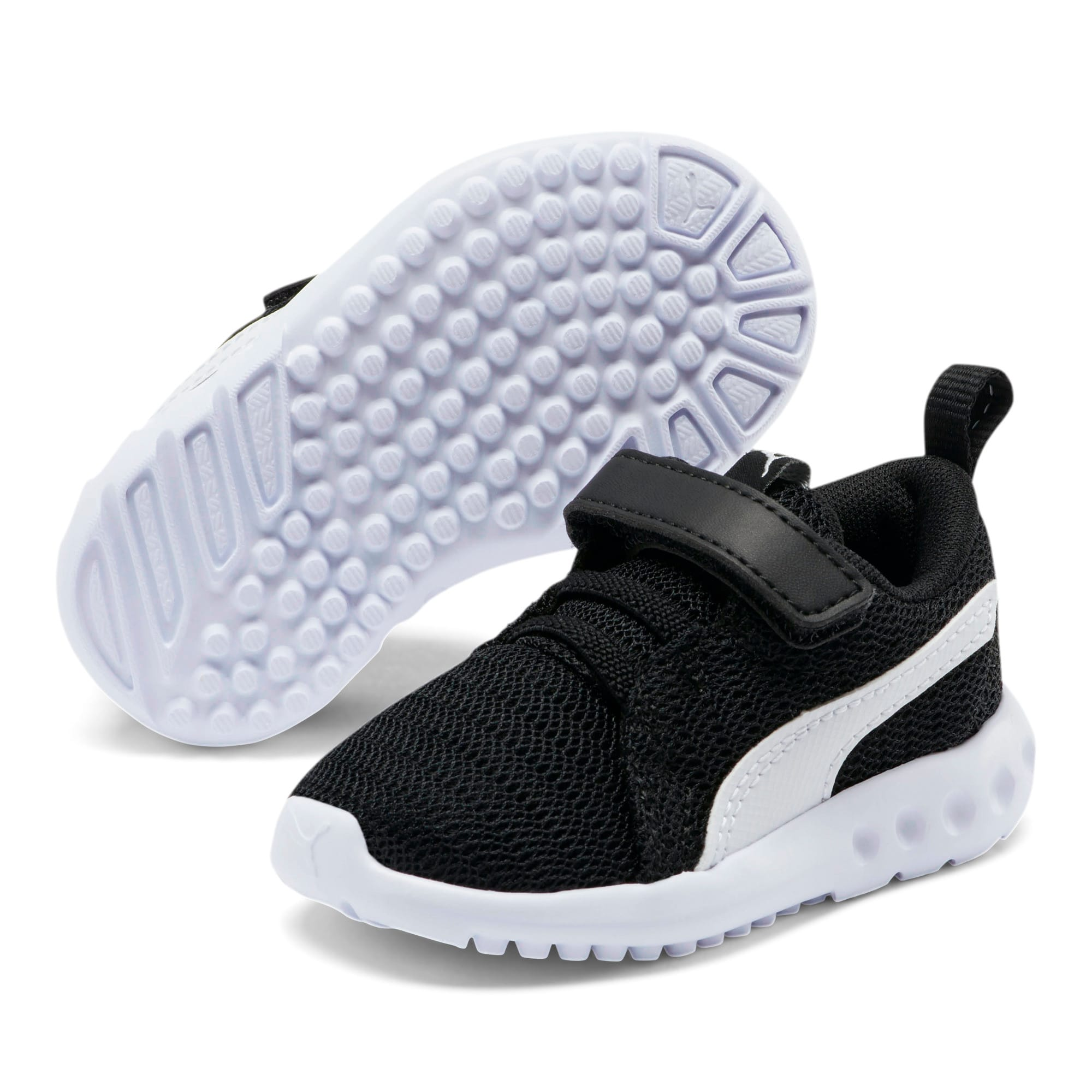 Thumbnail 2 of Carson 2 Toddler Shoes, Puma Black-Puma White, medium