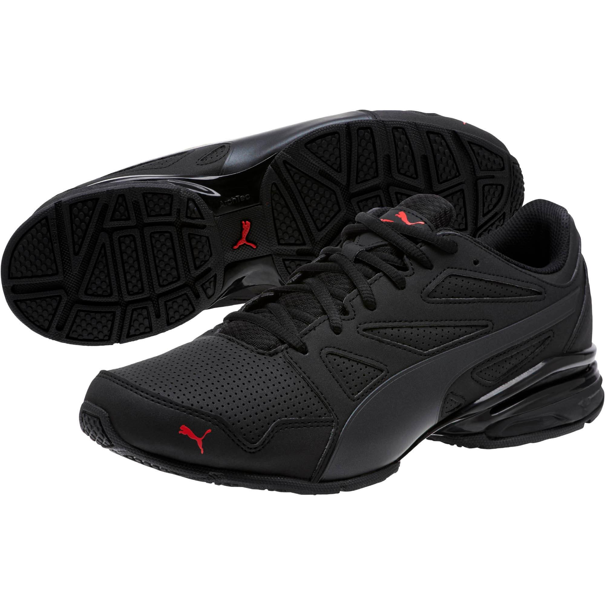 Thumbnail 2 of Tazon Modern SL FM Men's Sneakers, Puma Black-high risk red, medium