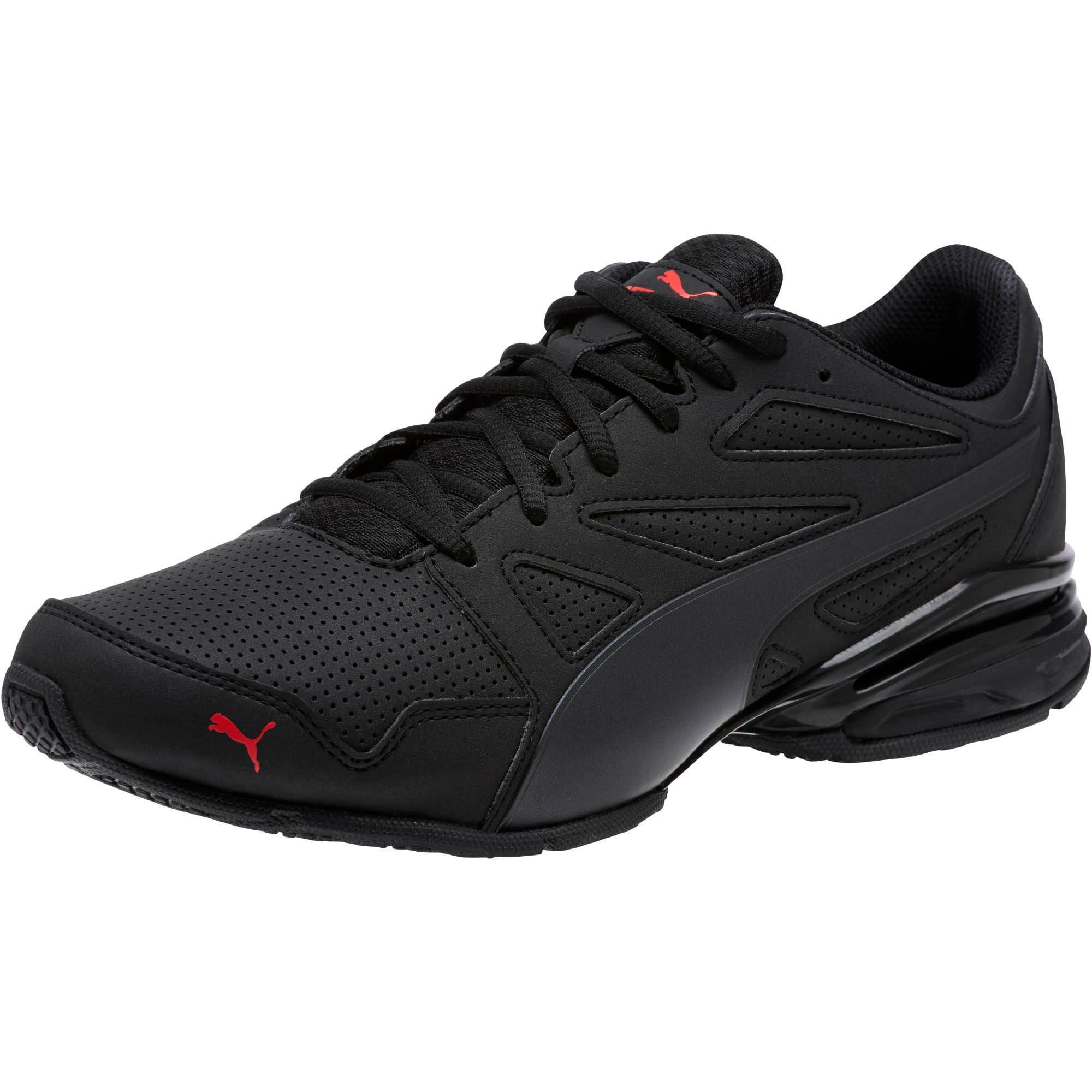 PUMA Men's Enzin SL Sneaker, White Black, 11 M US: