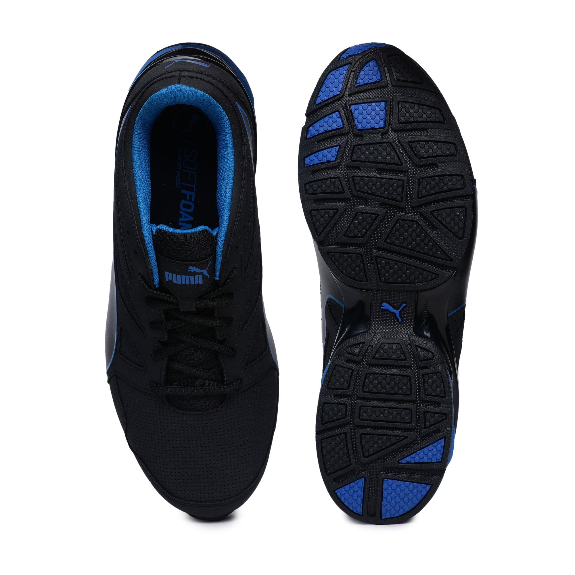 Thumbnail 3 of Tazon Modern SL Men's Running Shoes, Puma Black-Lapis Blue, medium-IND