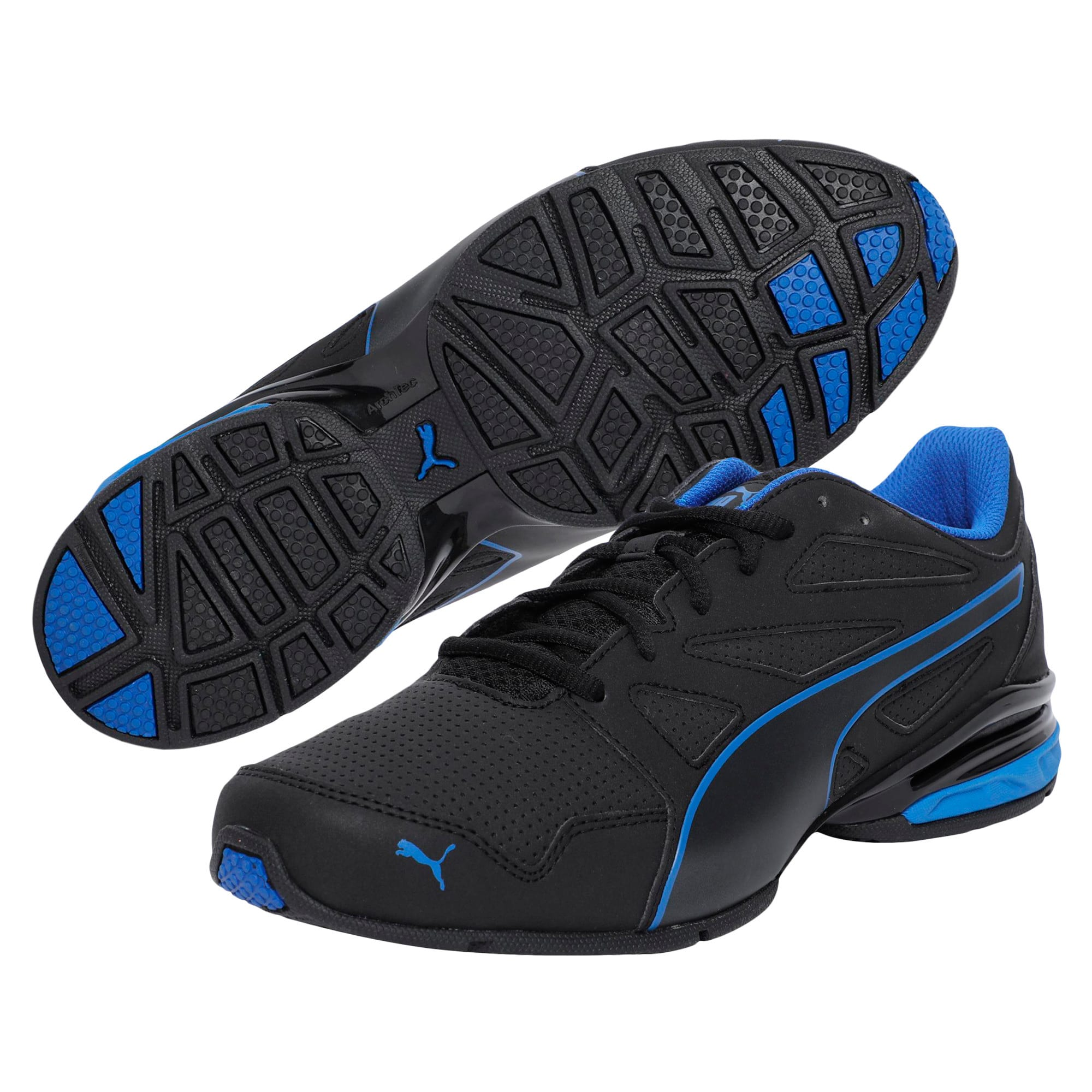 Thumbnail 2 of Tazon Modern SL Men's Running Shoes, Puma Black-Lapis Blue, medium-IND
