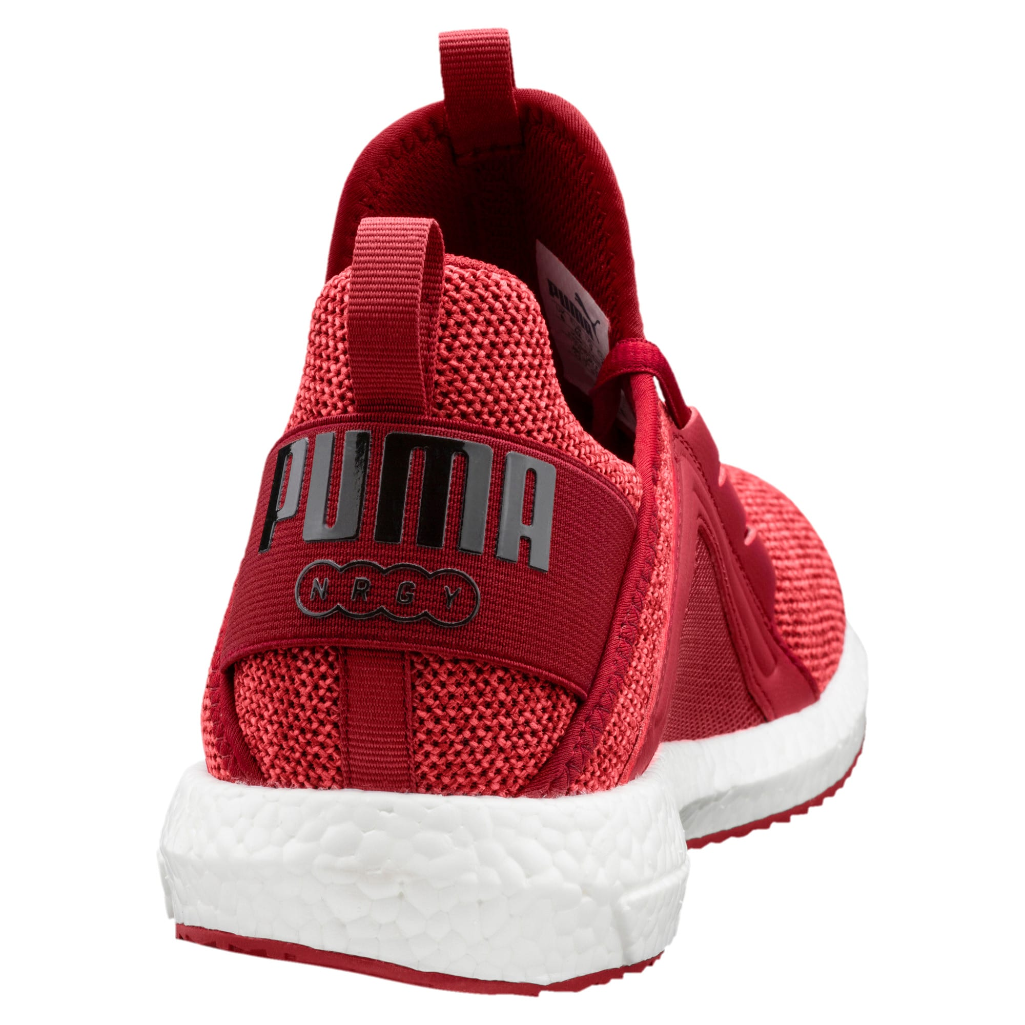 Thumbnail 4 of Mega NRGY Knit Men's Running Shoes, Red Dahlia-Flame Scarlet-Blk, medium
