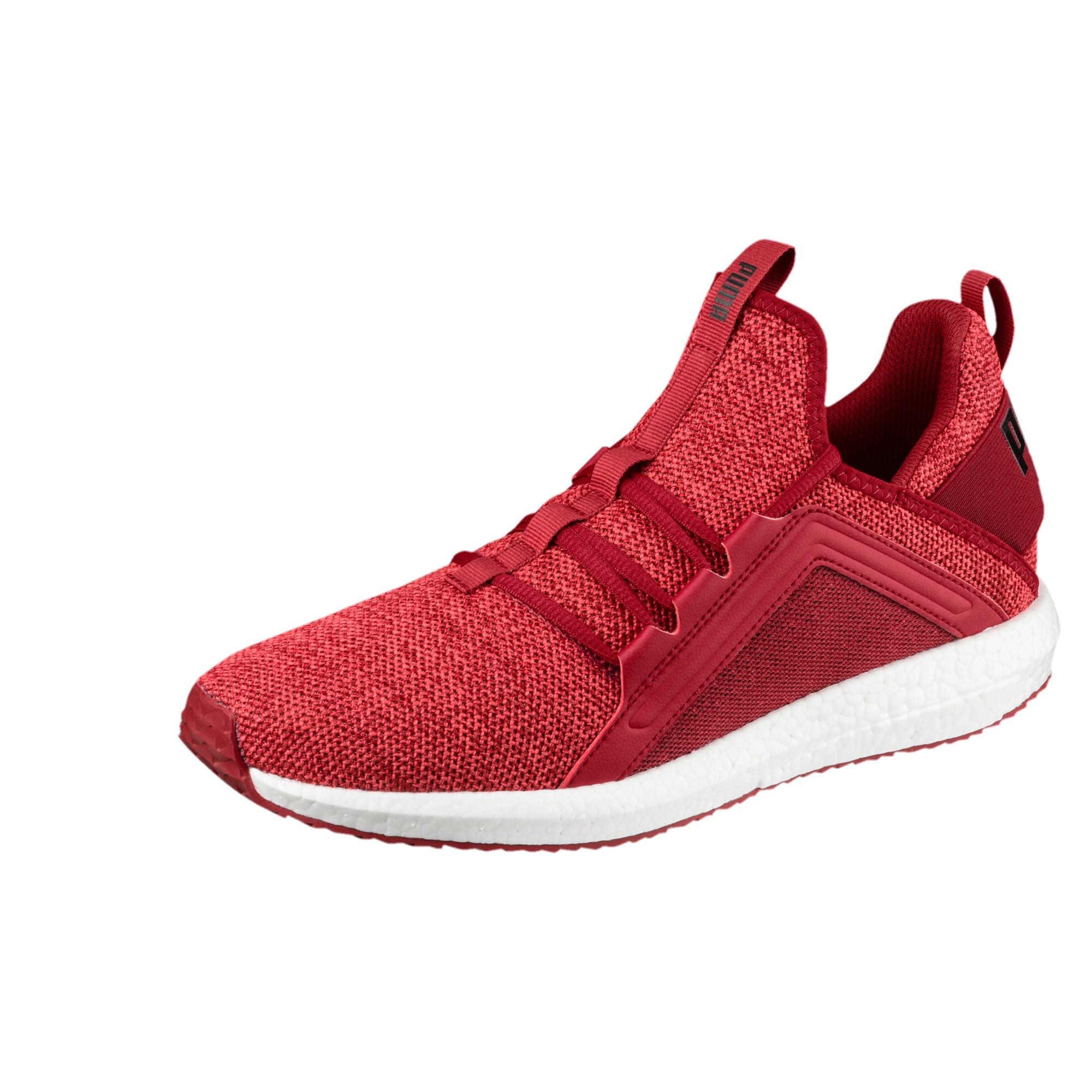 Thumbnail 1 of Mega NRGY Knit Men's Running Shoes, Red Dahlia-Flame Scarlet-Blk, medium