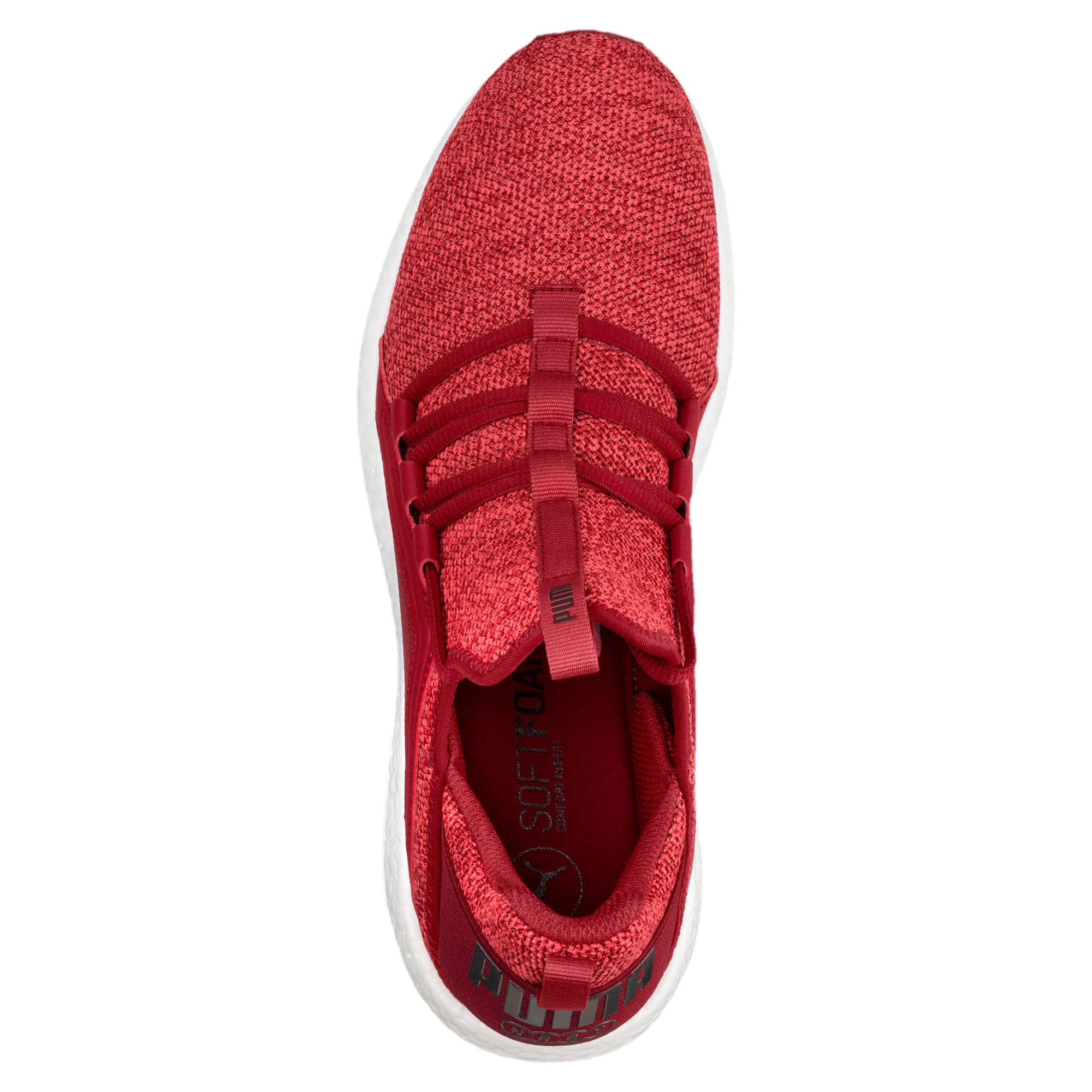Thumbnail 5 of Mega NRGY Knit Men's Running Shoes, Red Dahlia-Flame Scarlet-Blk, medium