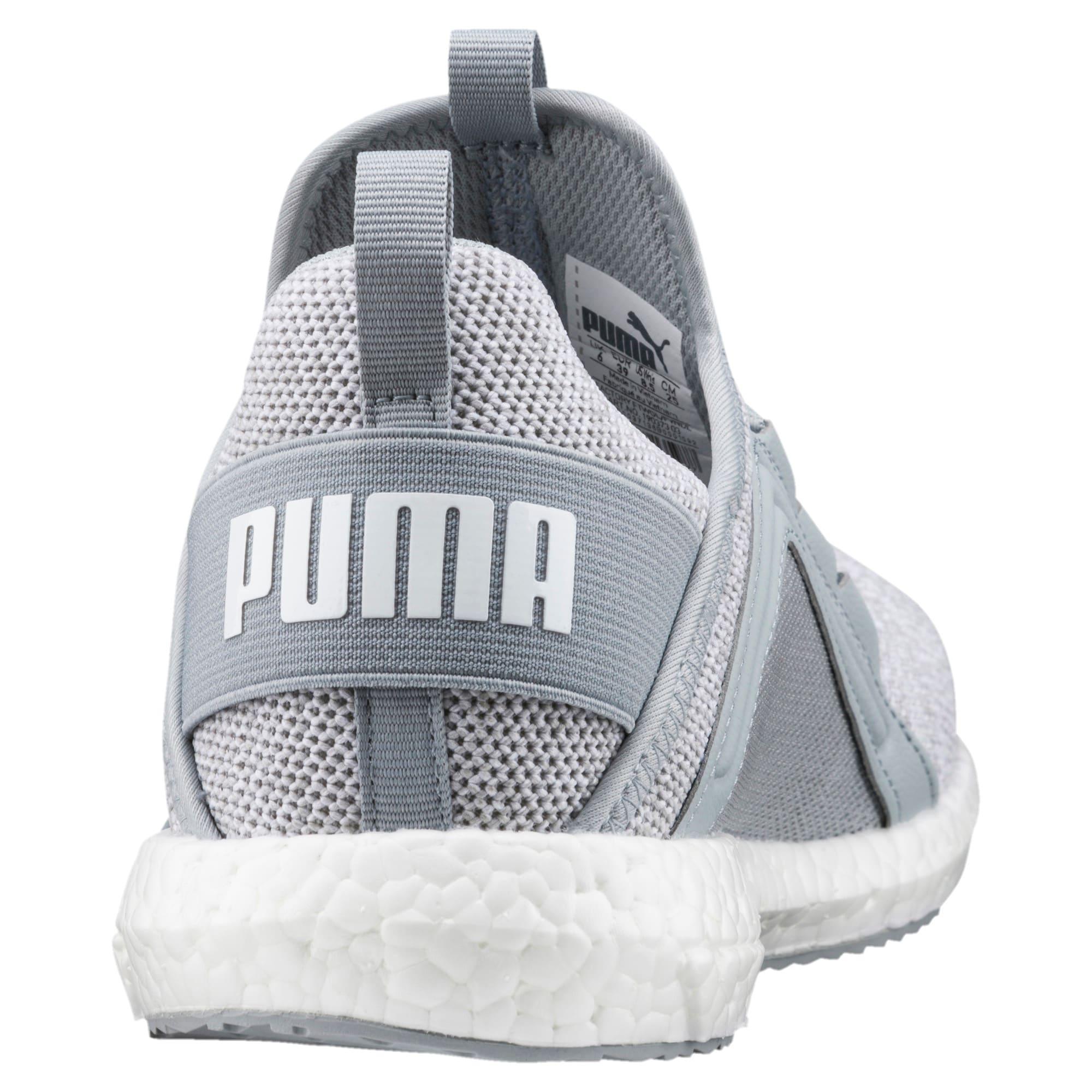 Thumbnail 4 of Mega NRGY Knit Women's Trainers, Quarry-Puma White, medium