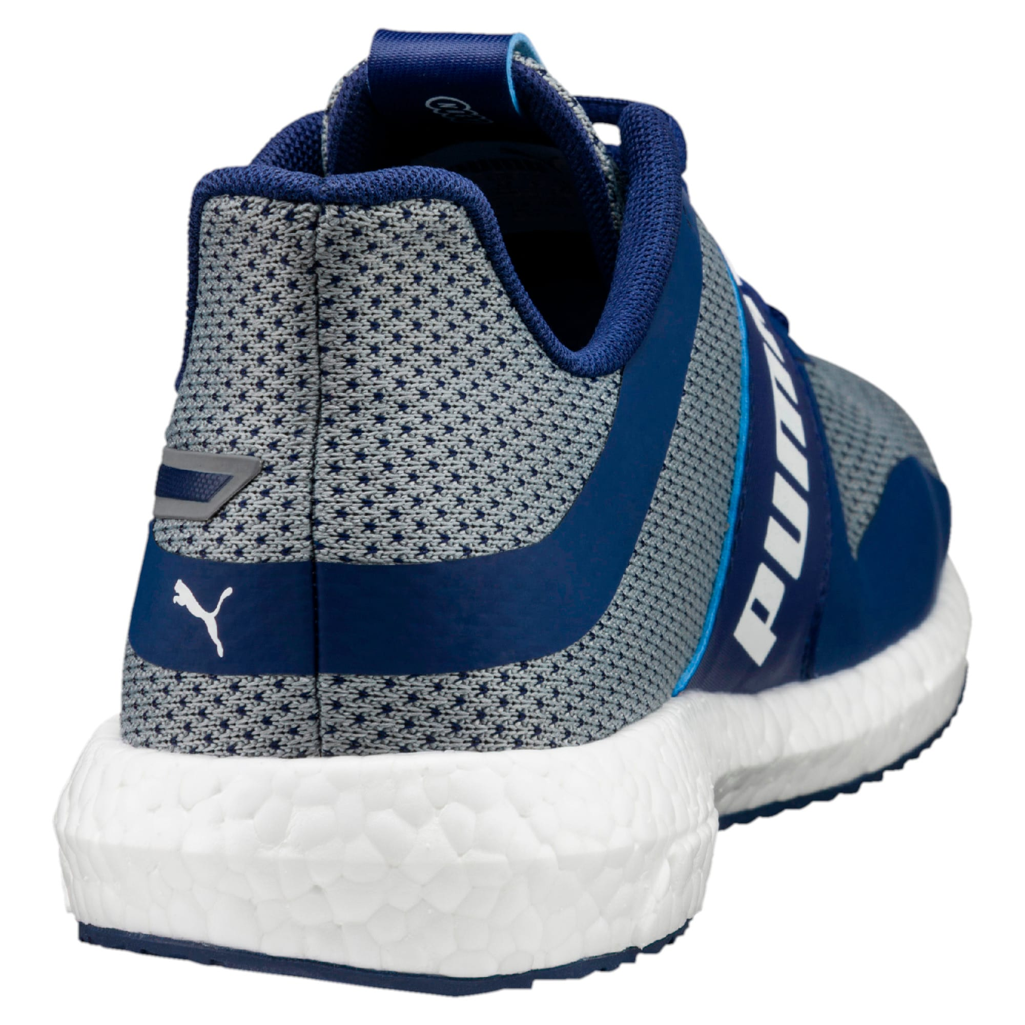 Thumbnail 3 of Mega NRGY Turbo Men's Running Shoes, Blue Depths-Puma White, medium-IND