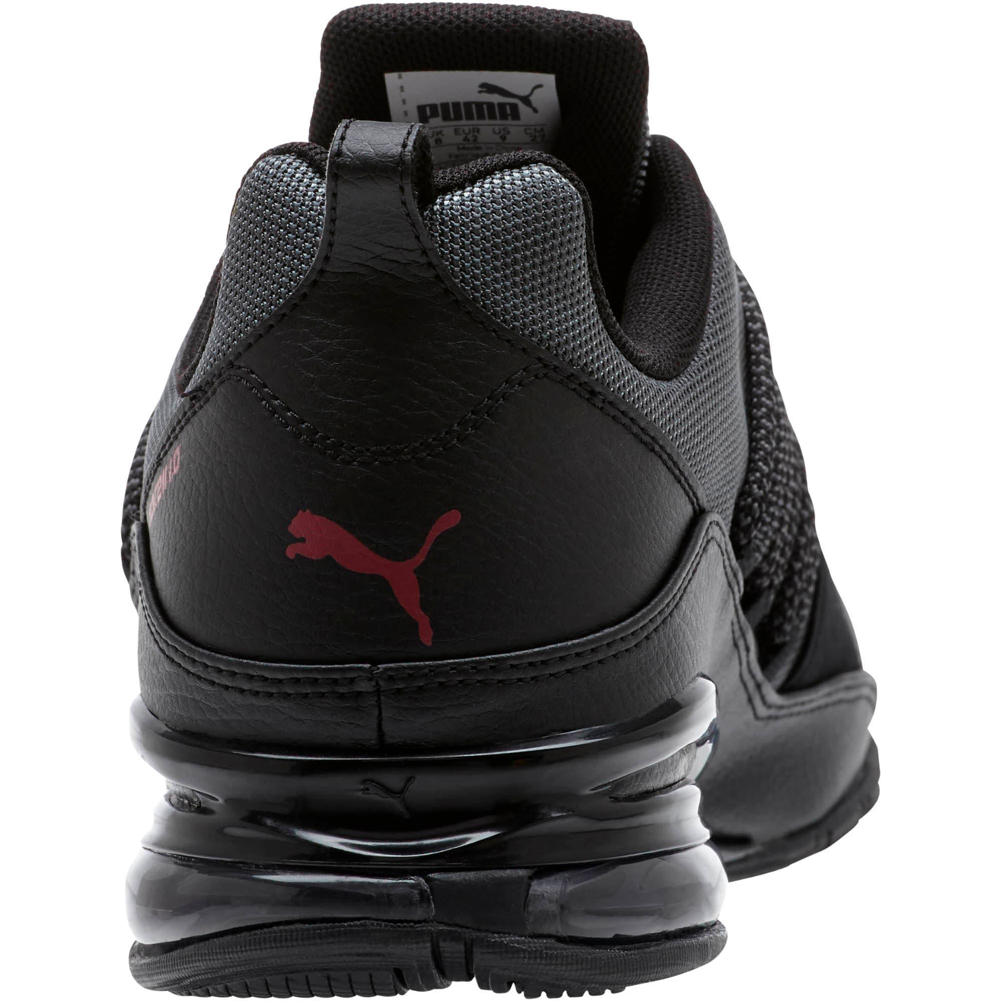 Thumbnail 4 of Cell Regulate KRM Men's Running Shoes, IronGate-PumaBlack-Pomegrnt, medium