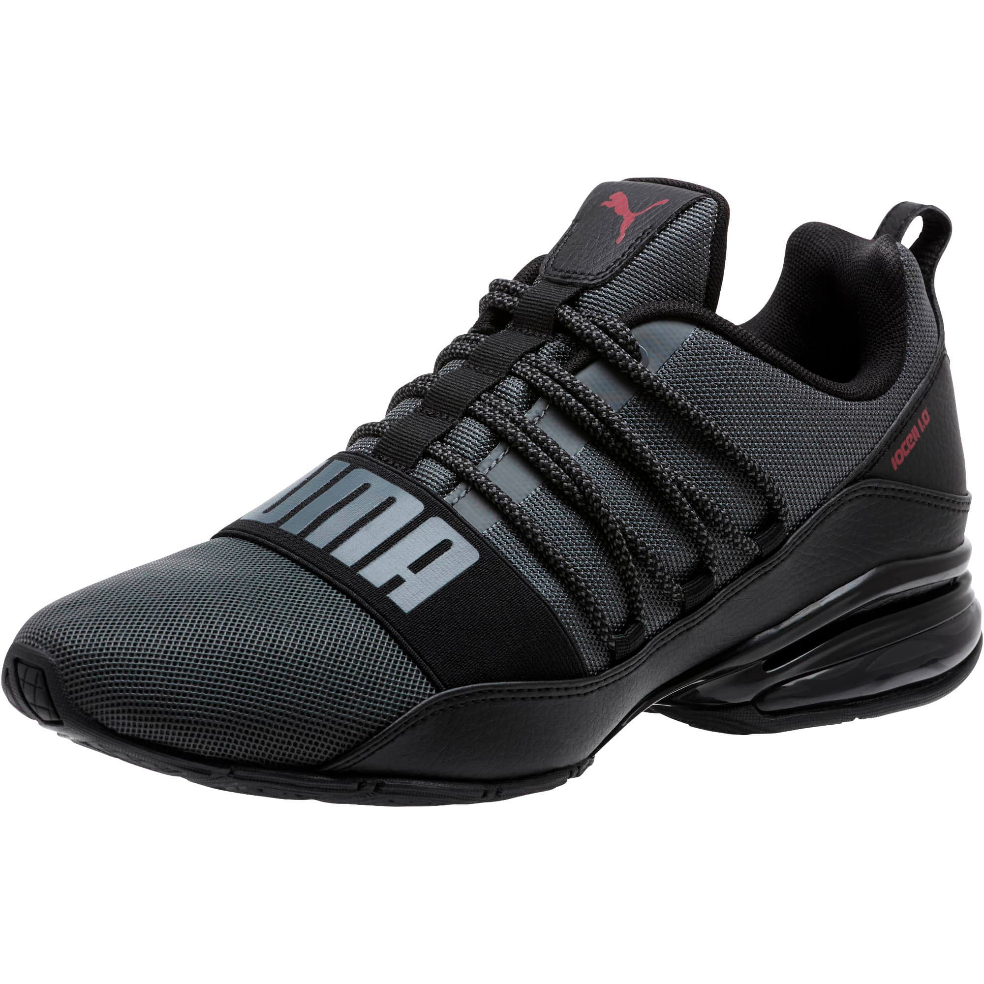 Thumbnail 1 of Cell Regulate KRM Men's Running Shoes, IronGate-PumaBlack-Pomegrnt, medium