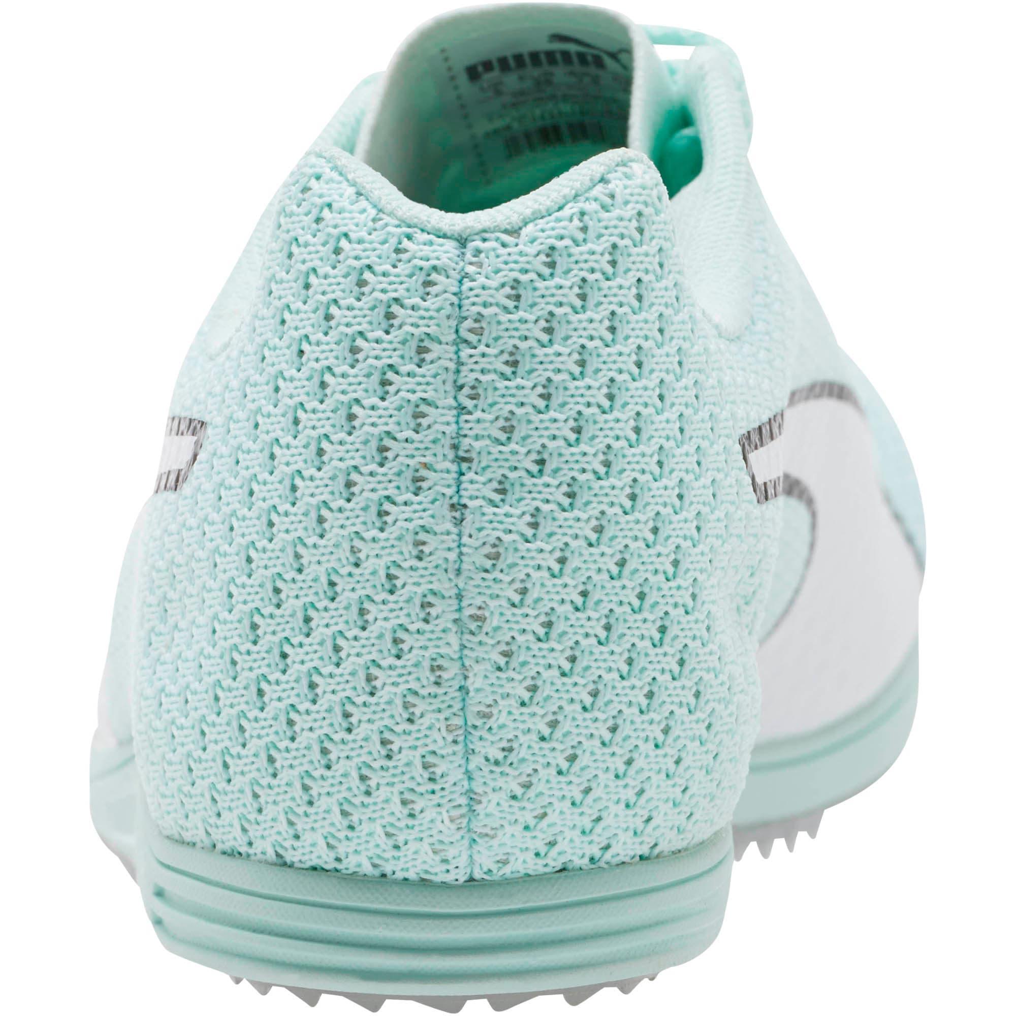 Thumbnail 3 of evoSPEED Distance 8 Women's Track Spikes, Fair Aqua-Puma White, medium