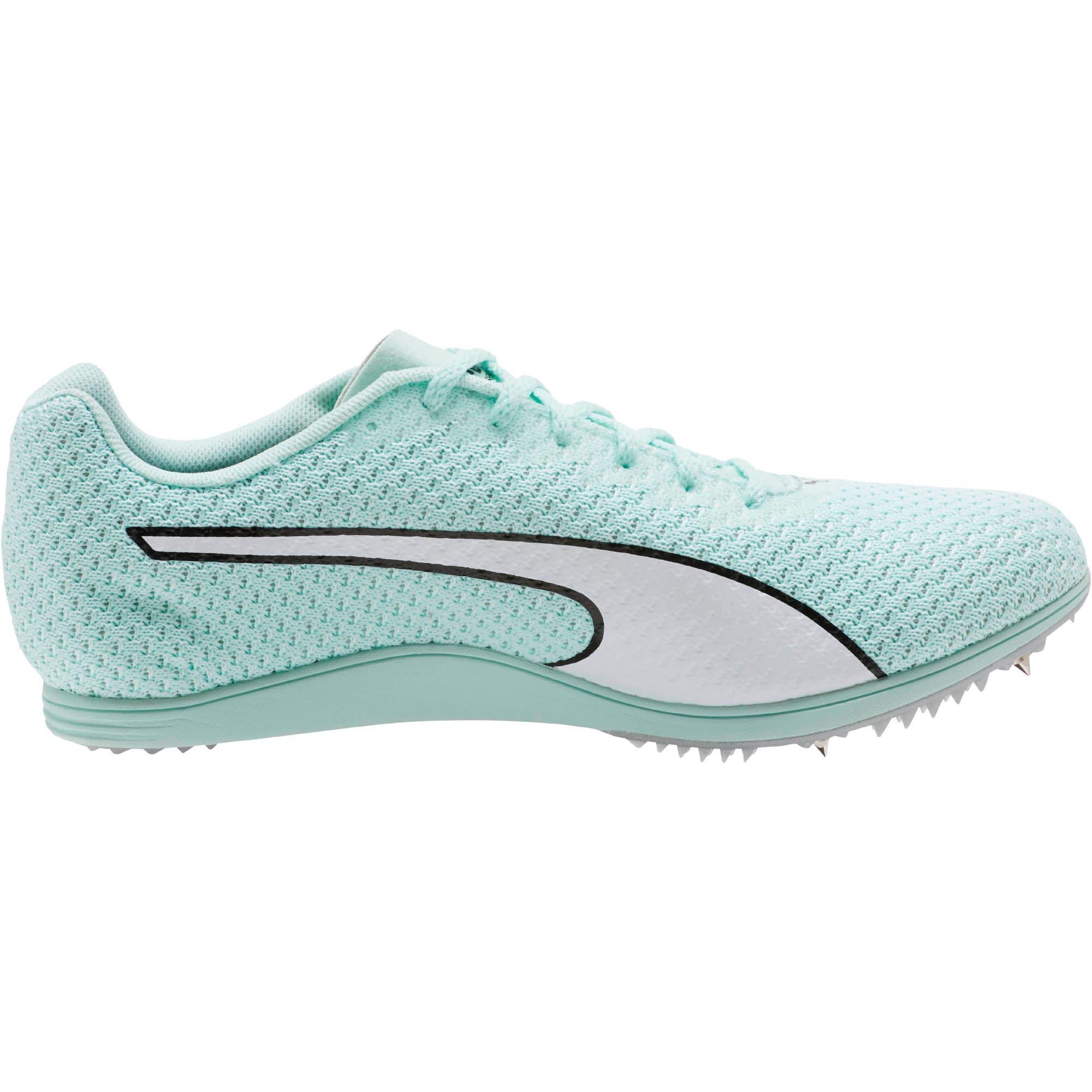 Thumbnail 4 of evoSPEED Distance 8 Women's Track Spikes, Fair Aqua-Puma White, medium