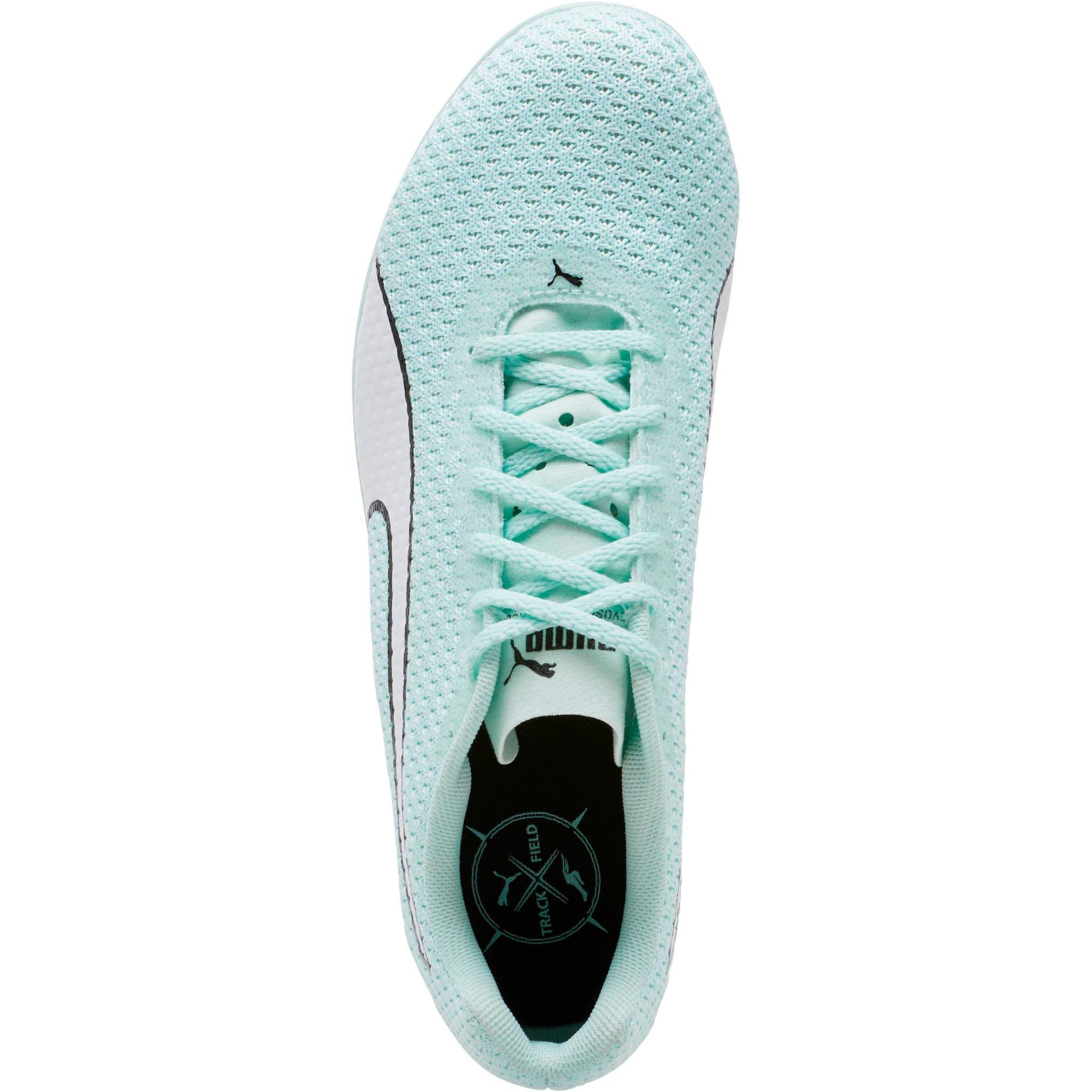Thumbnail 5 of evoSPEED Distance 8 Women's Track Spikes, Fair Aqua-Puma White, medium