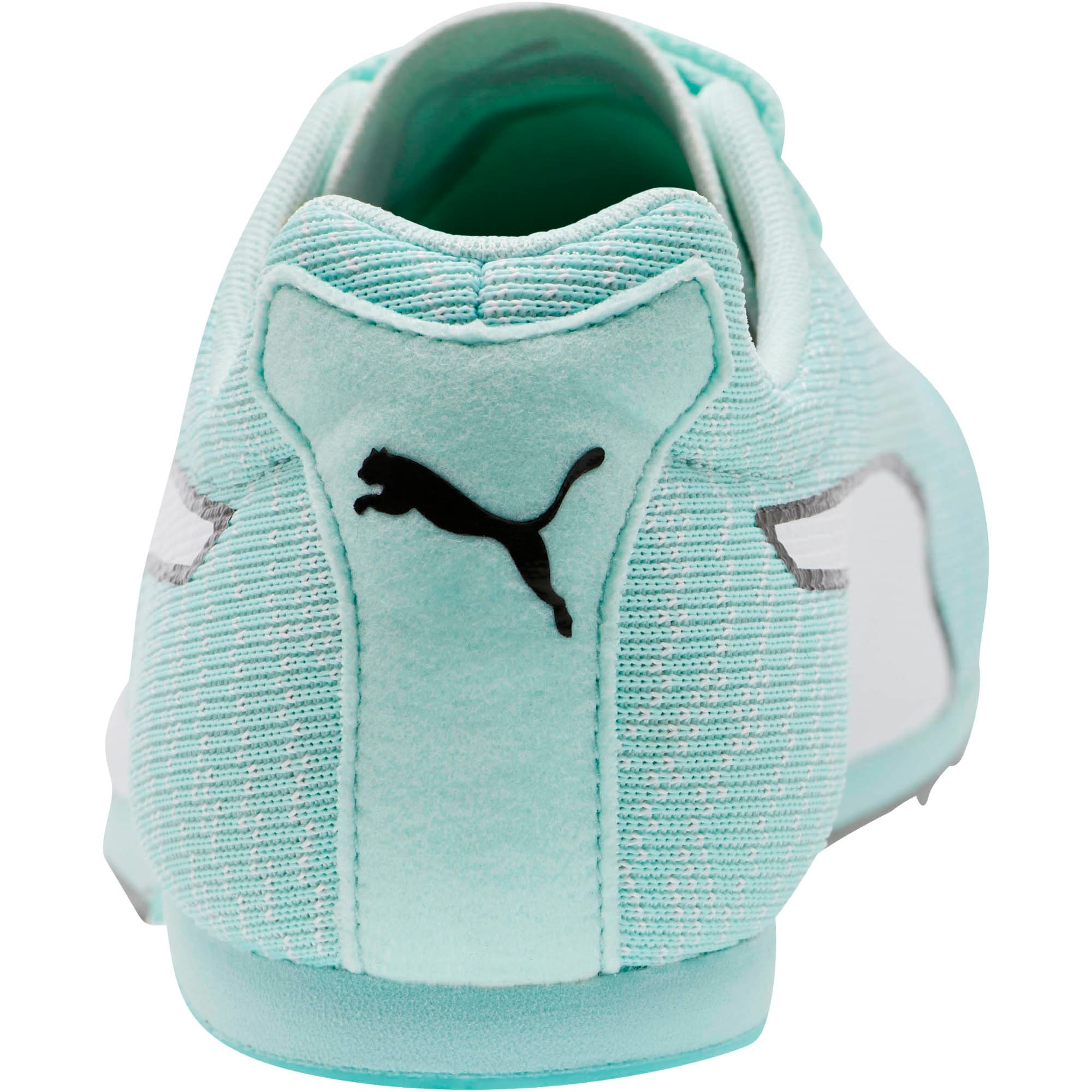 Thumbnail 3 of evoSPEED Star 6 Men's Track Spikes, Fair Aqua-Puma White, medium
