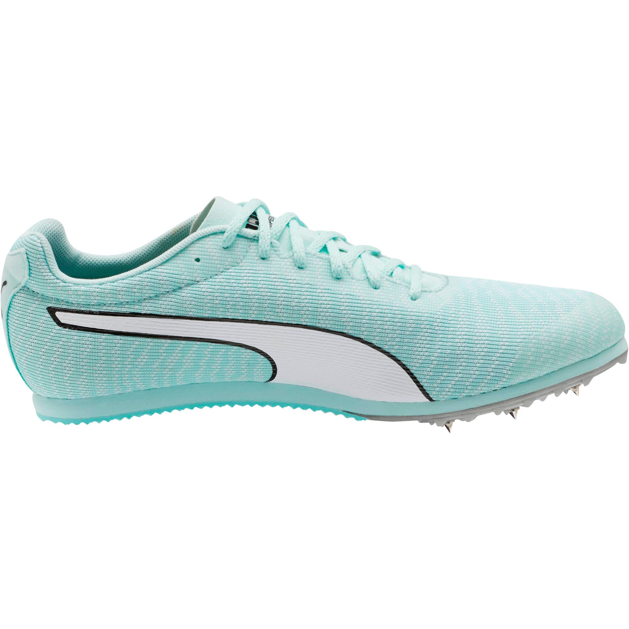 Thumbnail 4 of evoSPEED Star 6 Men's Track Spikes, Fair Aqua-Puma White, medium
