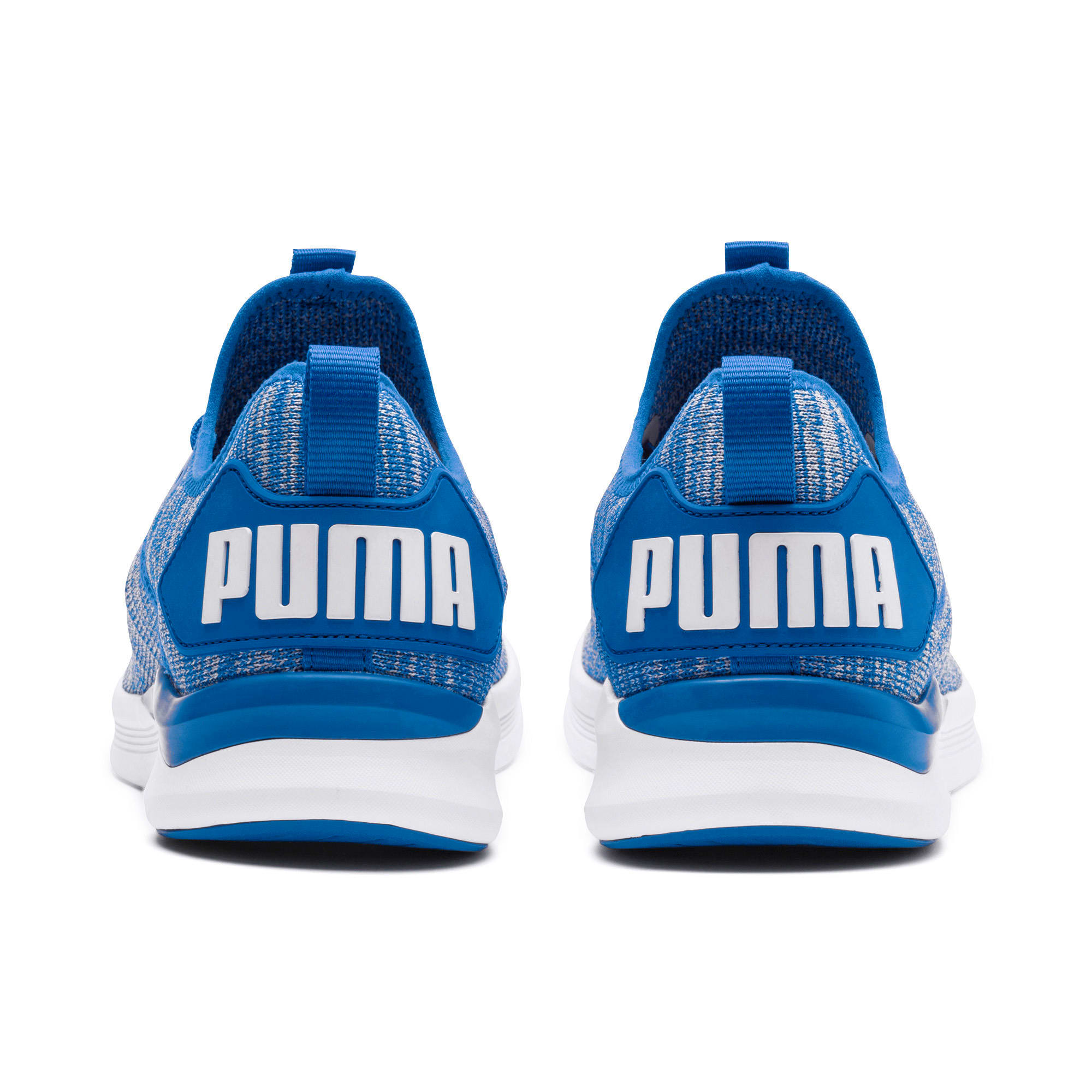 Thumbnail 4 of IGNITE Flash evoKNIT Men's Training Shoes, Strong Blue-White, medium