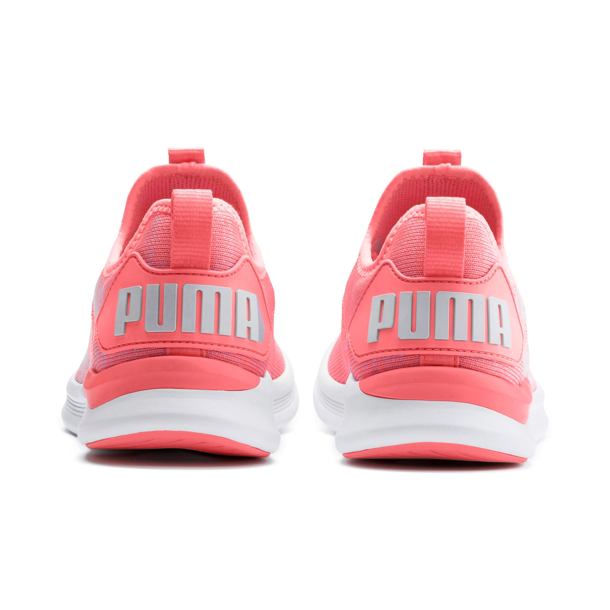 Thumbnail 4 of IGNITE Flash evoKNIT Women's Running Shoes, Bright Peach-Puma White, medium