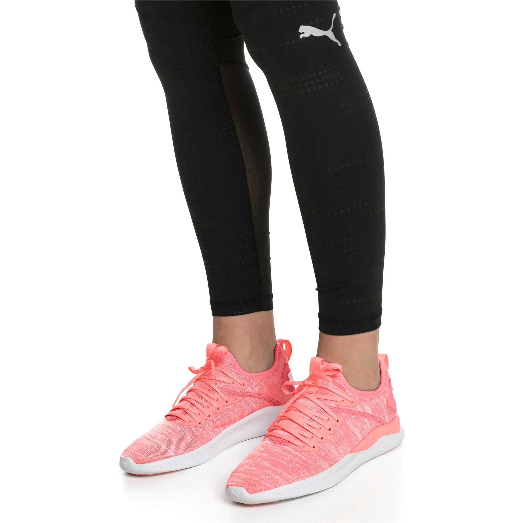 Thumbnail 2 of IGNITE Flash evoKNIT Women's Running Shoes, Bright Peach-Puma White, medium