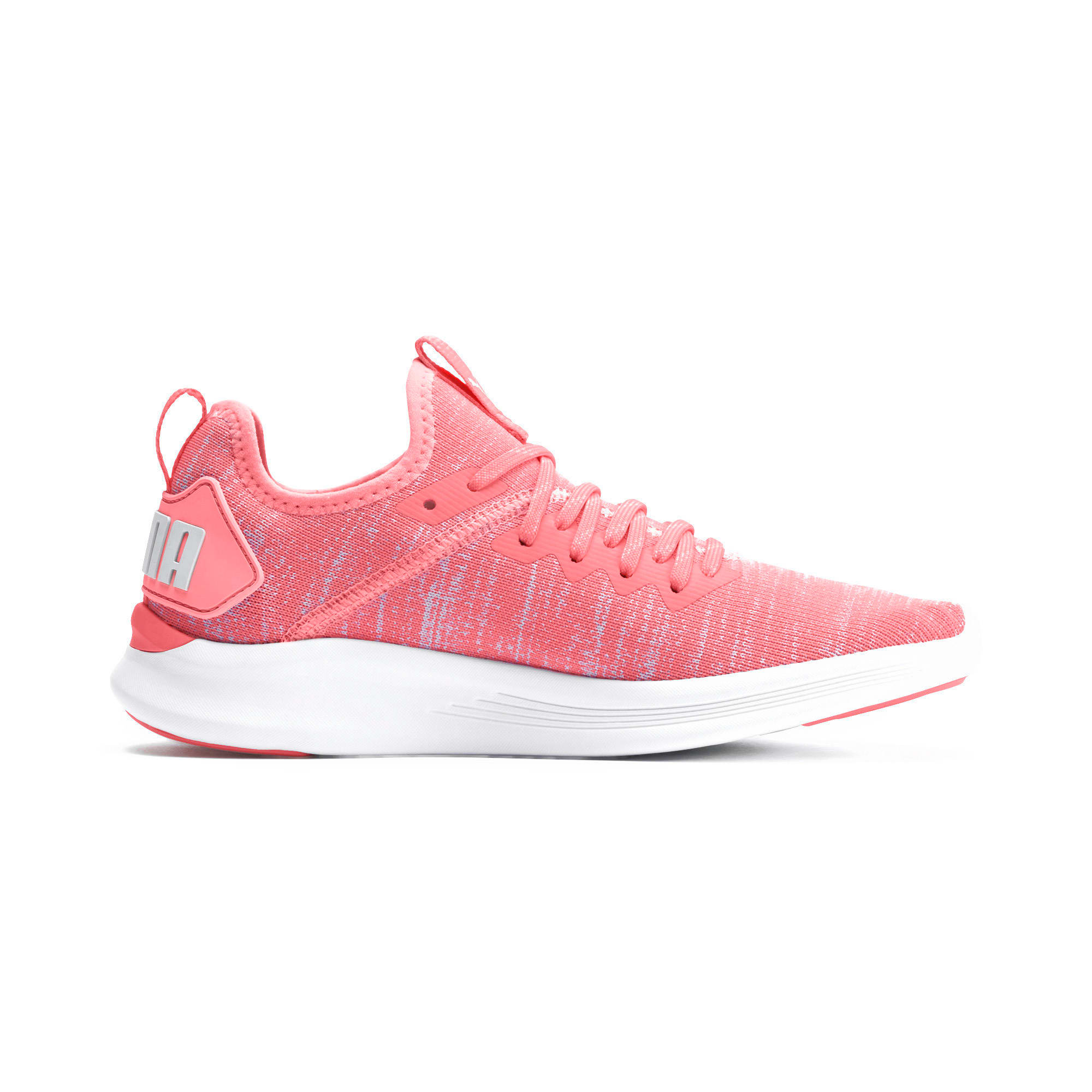 Thumbnail 6 of IGNITE Flash evoKNIT Women's Running Shoes, Bright Peach-Puma White, medium