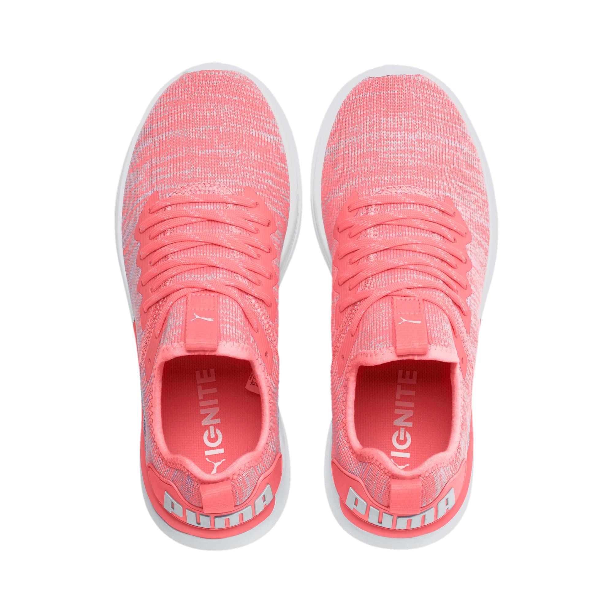 Thumbnail 7 of IGNITE Flash evoKNIT Women's Running Shoes, Bright Peach-Puma White, medium