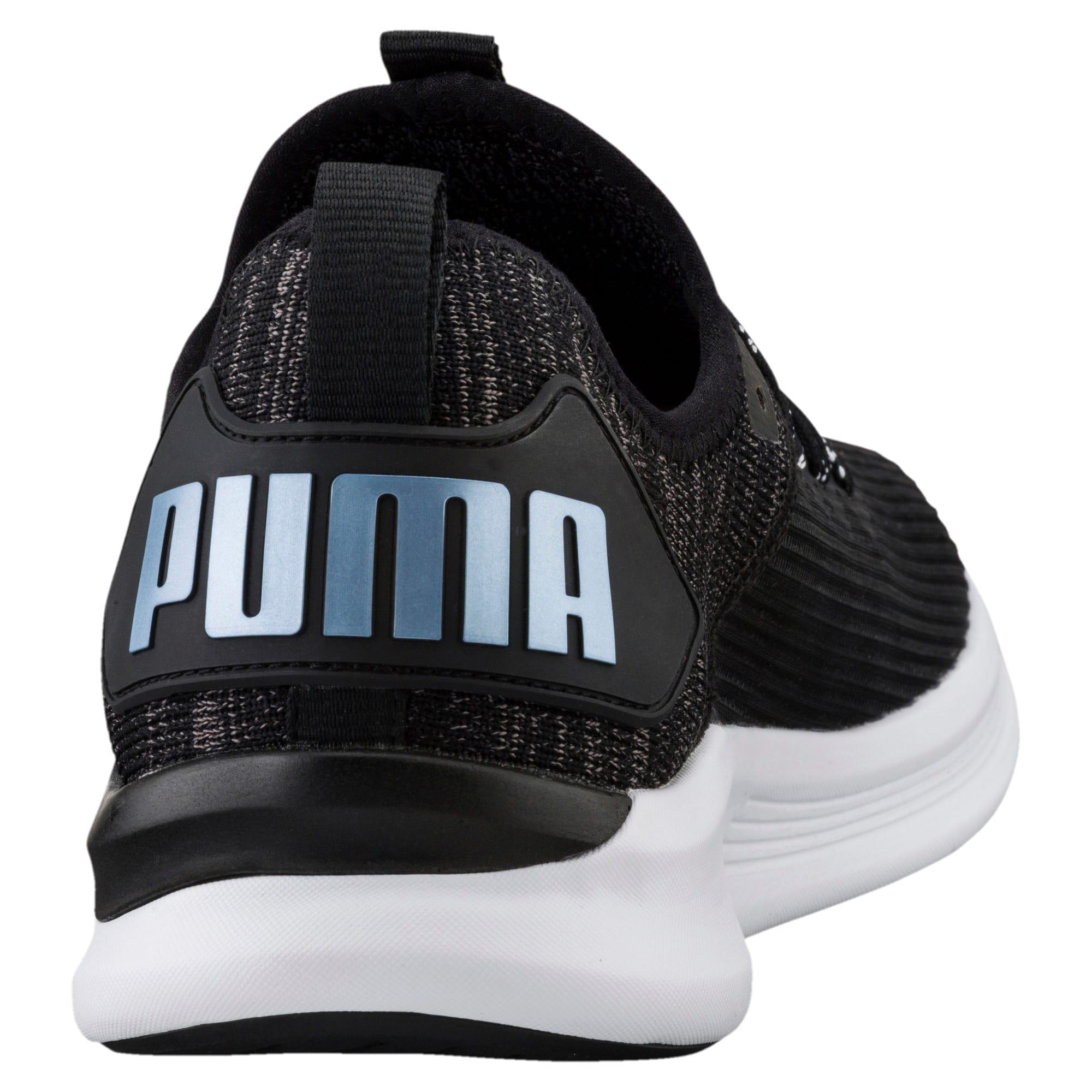 Thumbnail 2 of IGNITE Flash Stripped Men's Running Shoes, Puma Black-QUIET SHADE, medium-IND