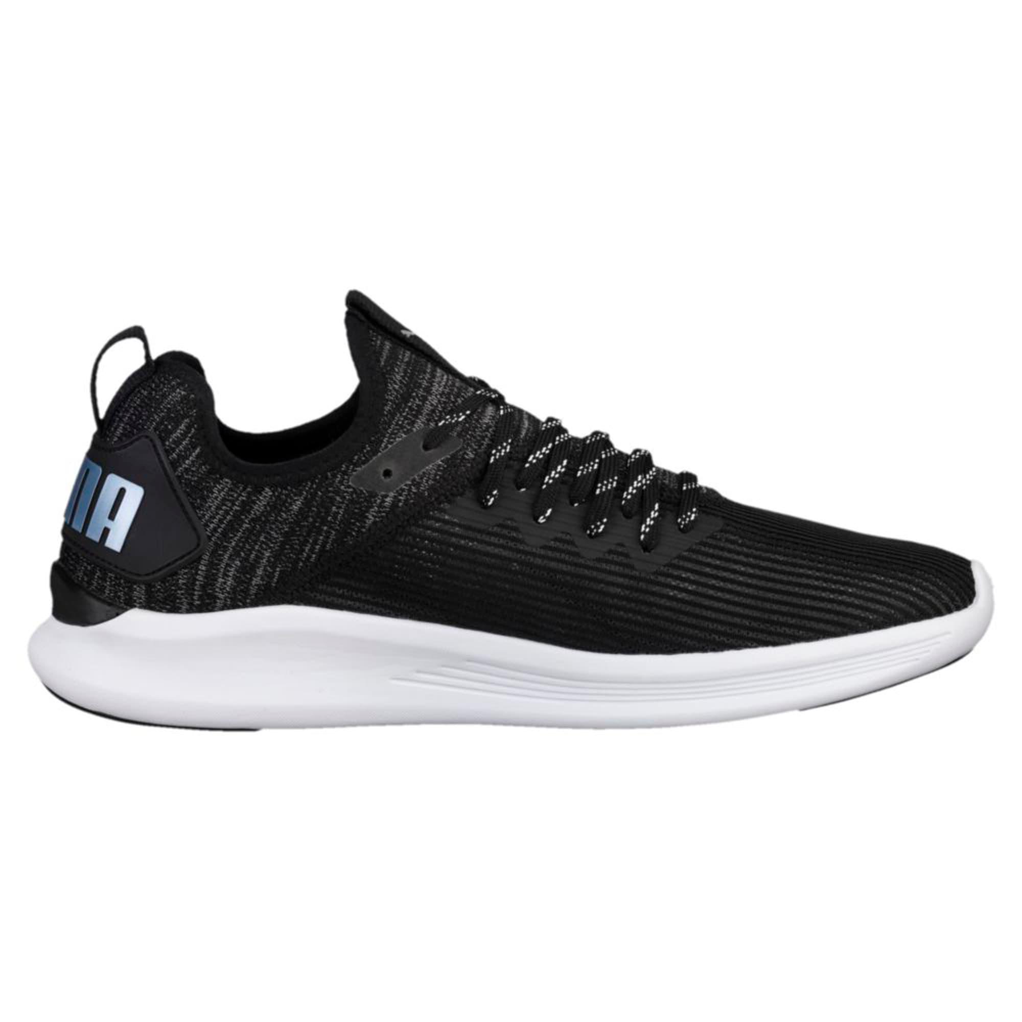 Thumbnail 3 of IGNITE Flash Stripped Men's Running Shoes, Puma Black-QUIET SHADE, medium-IND