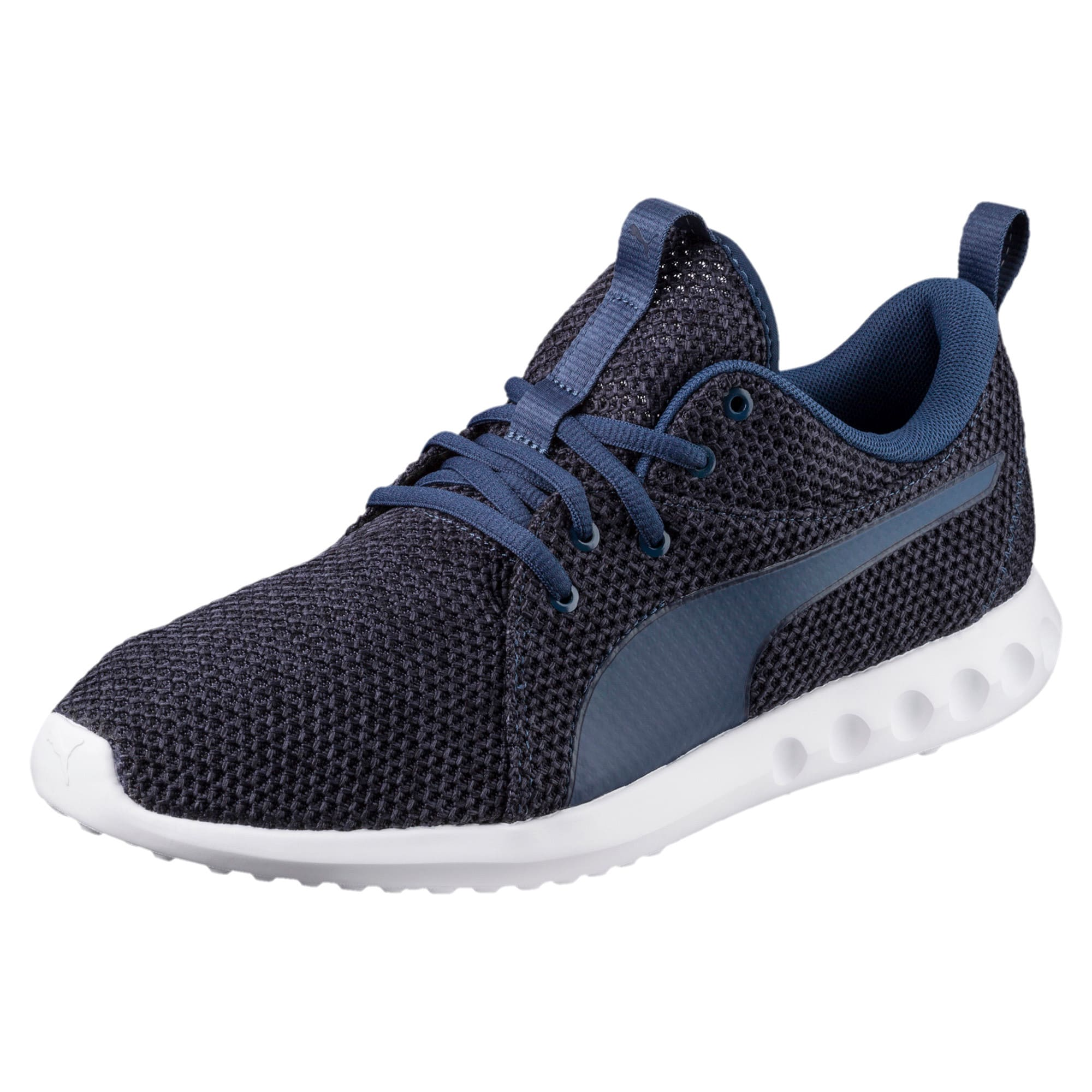 Thumbnail 1 of Carson 2 Nature Knit Men's Trainers, Sargasso Sea-Peacoat, medium-IND