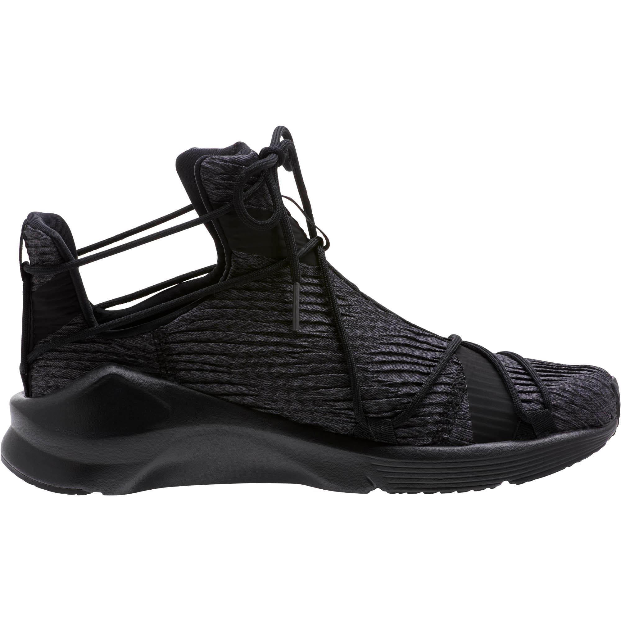 Thumbnail 3 of Fierce Rope Pleats Women's Sneakers, Puma Black-Puma Black, medium